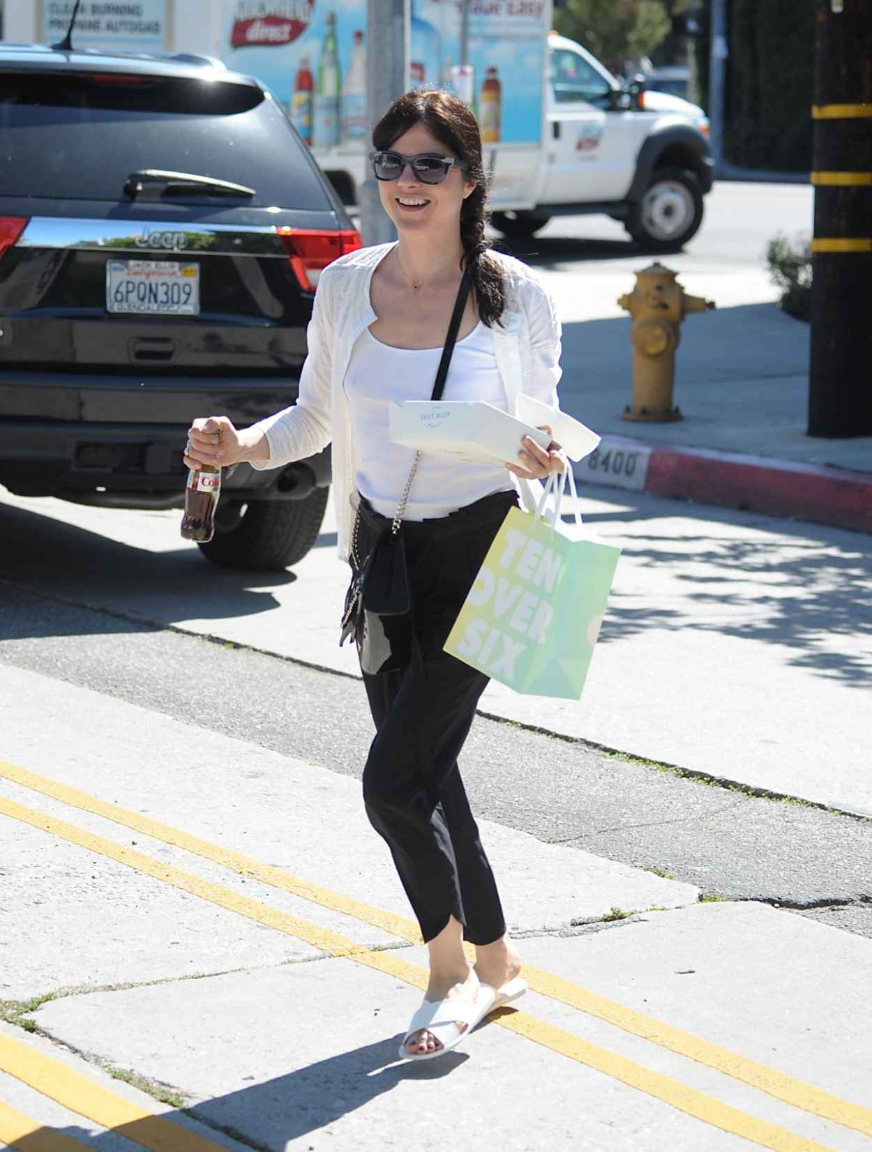 Selma Blair - Shopping and Getting Lunch in Los Angeles, March 2015-1