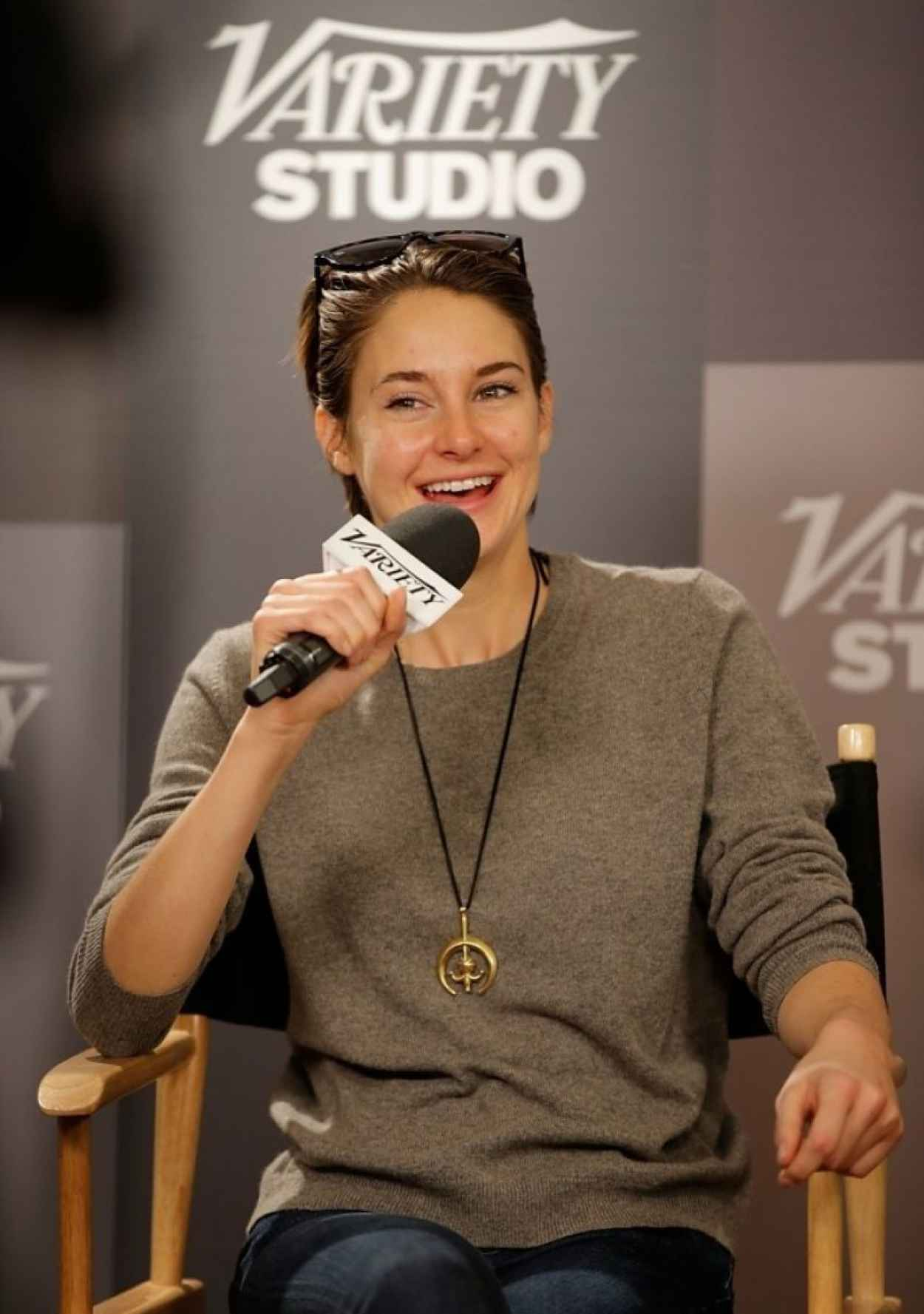 Shailene Woodley at Variety Studio: Sundance Edition in Park City, Utah January 2015-1