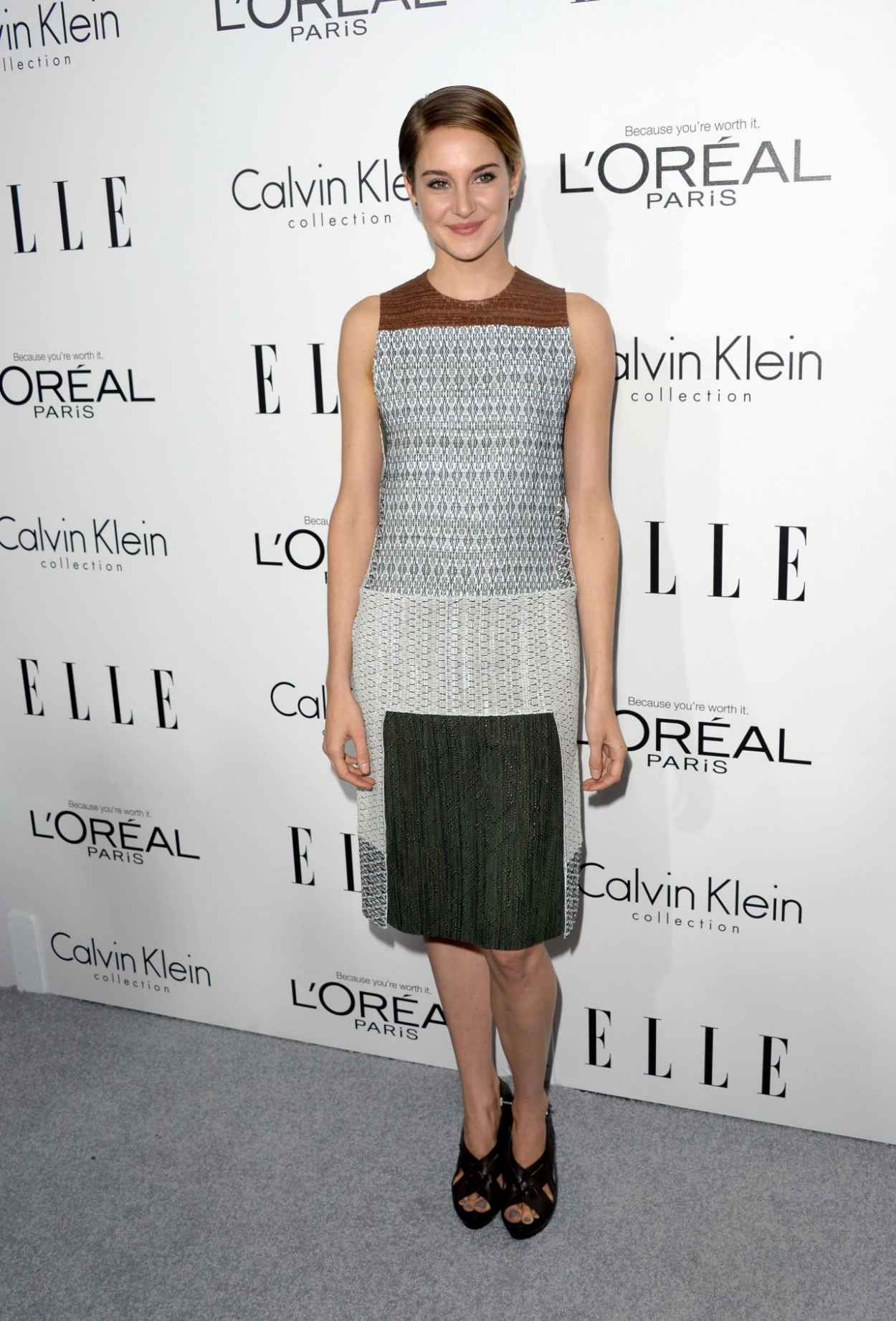 Shailene Woodley - ELLE-s 20th Annual Women Red Carpet-1