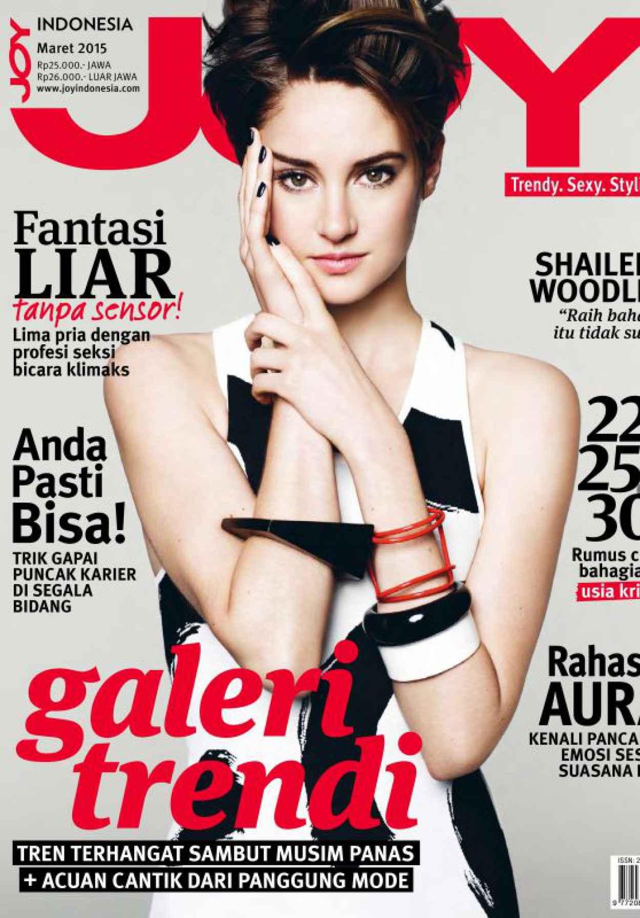 Shailene Woodley - JOY Magazine (Indonesia) March 2015 Issue-1