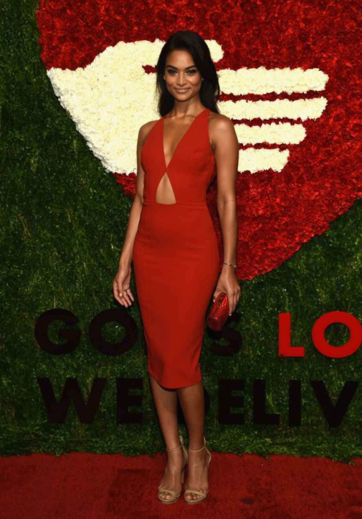 Shanina Shaik - Gods Love We Deliver, 2015 Golden Heart Awards in NYC-1