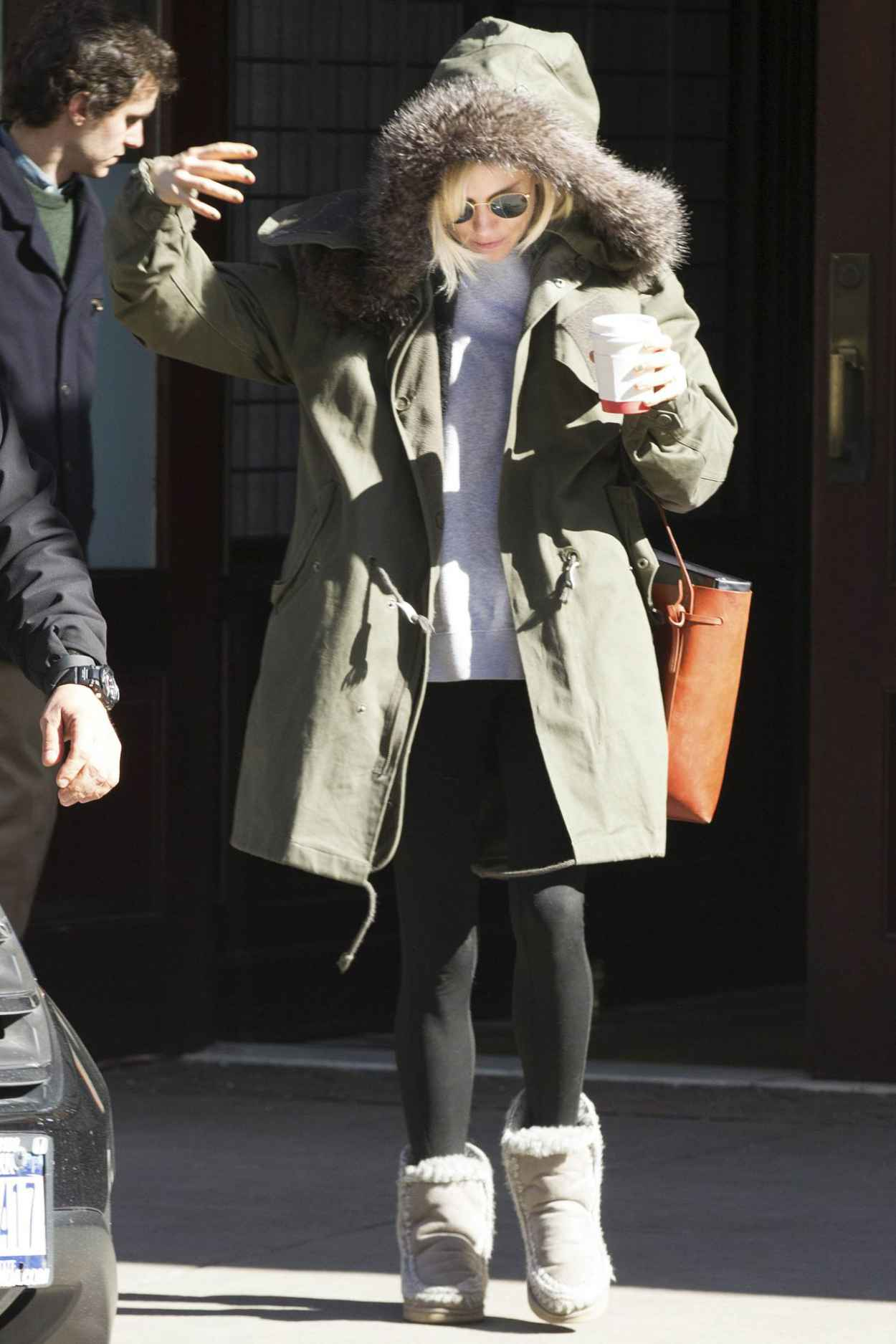 Sienna Miller - Out in New York City, February 2015-1