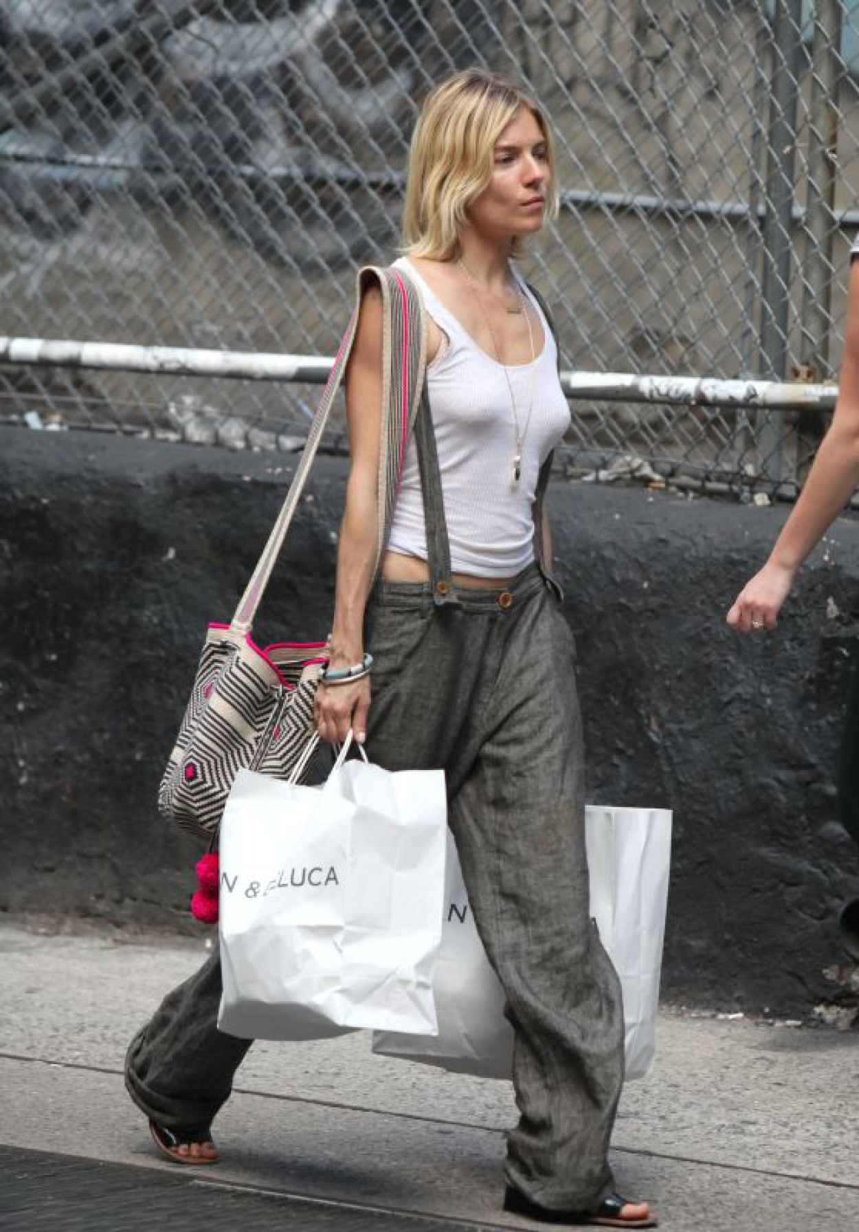 Sienna Miller - Out in New York City, July 2015-1