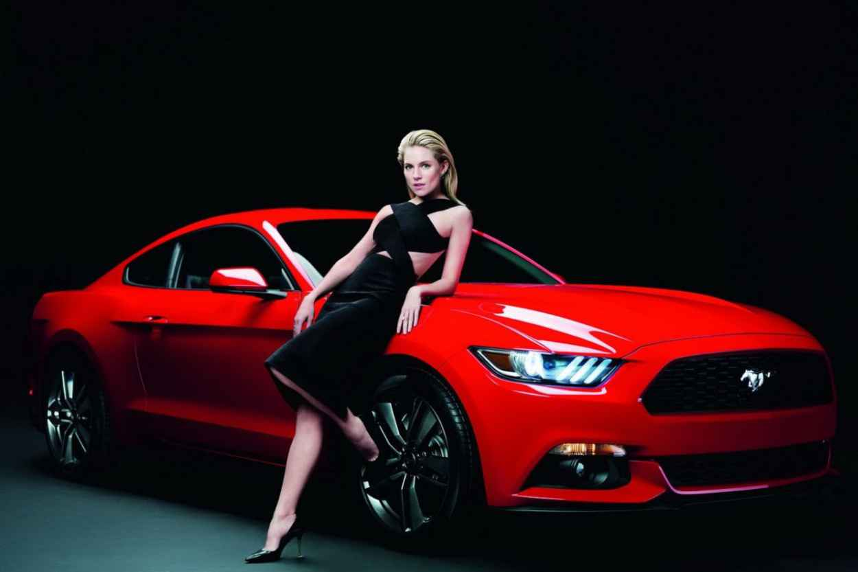 Sienna Miller Photoshoot for 2015 Ford Mustang-1