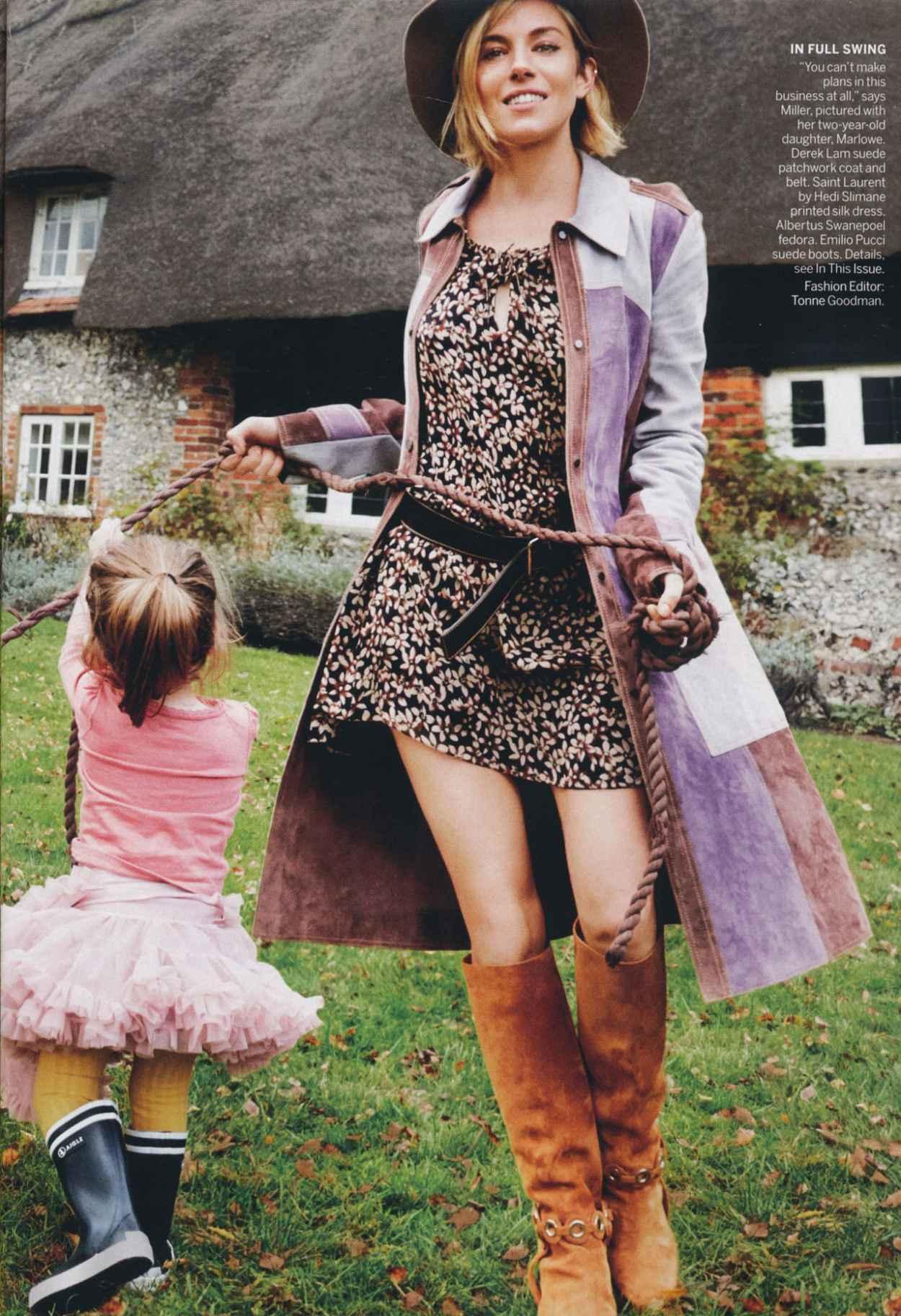 Sienna Miller - Vogue Magazine - January 2015-1