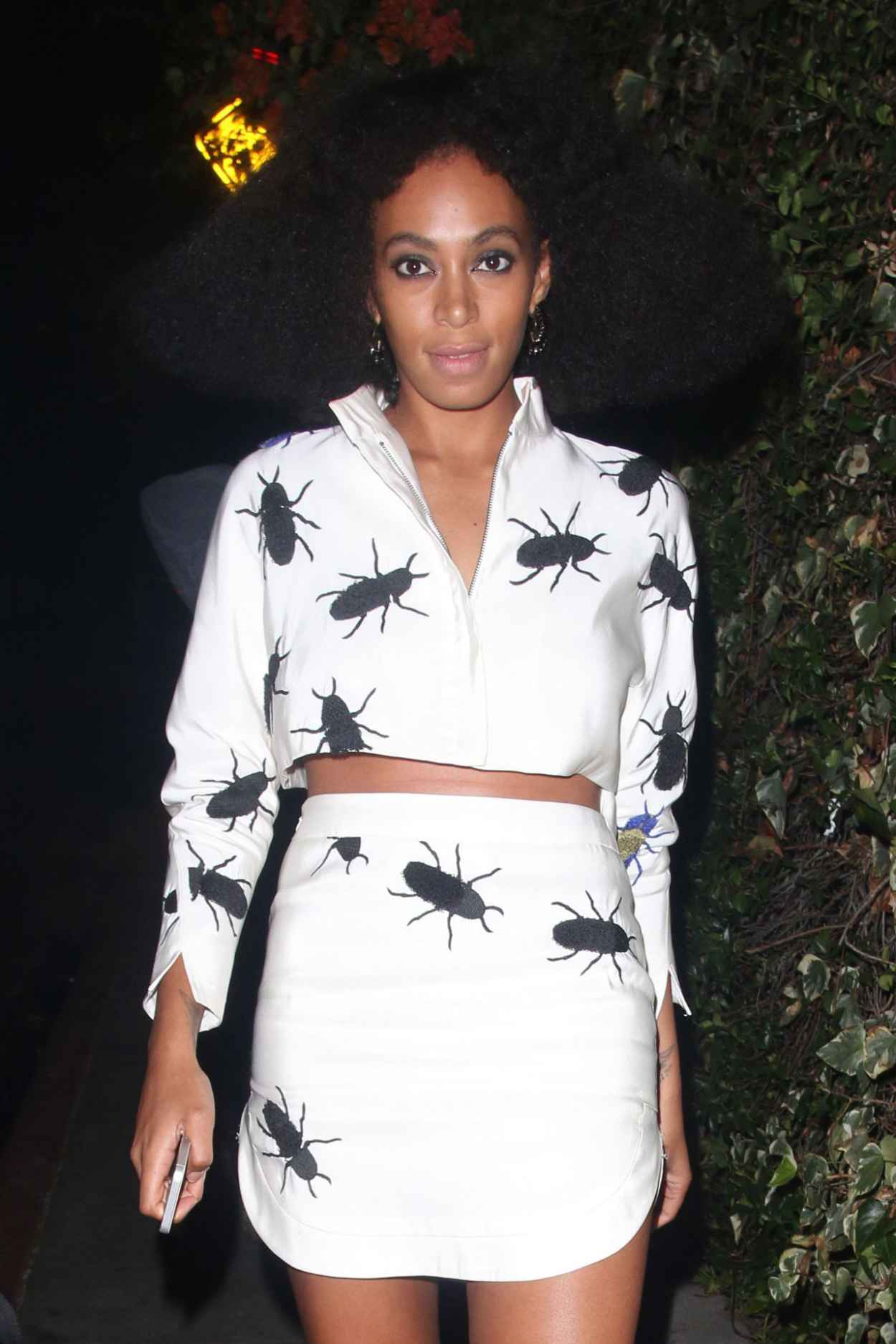 Solange Knowles - Leaving Chateau Marmont in West Hollywood-1