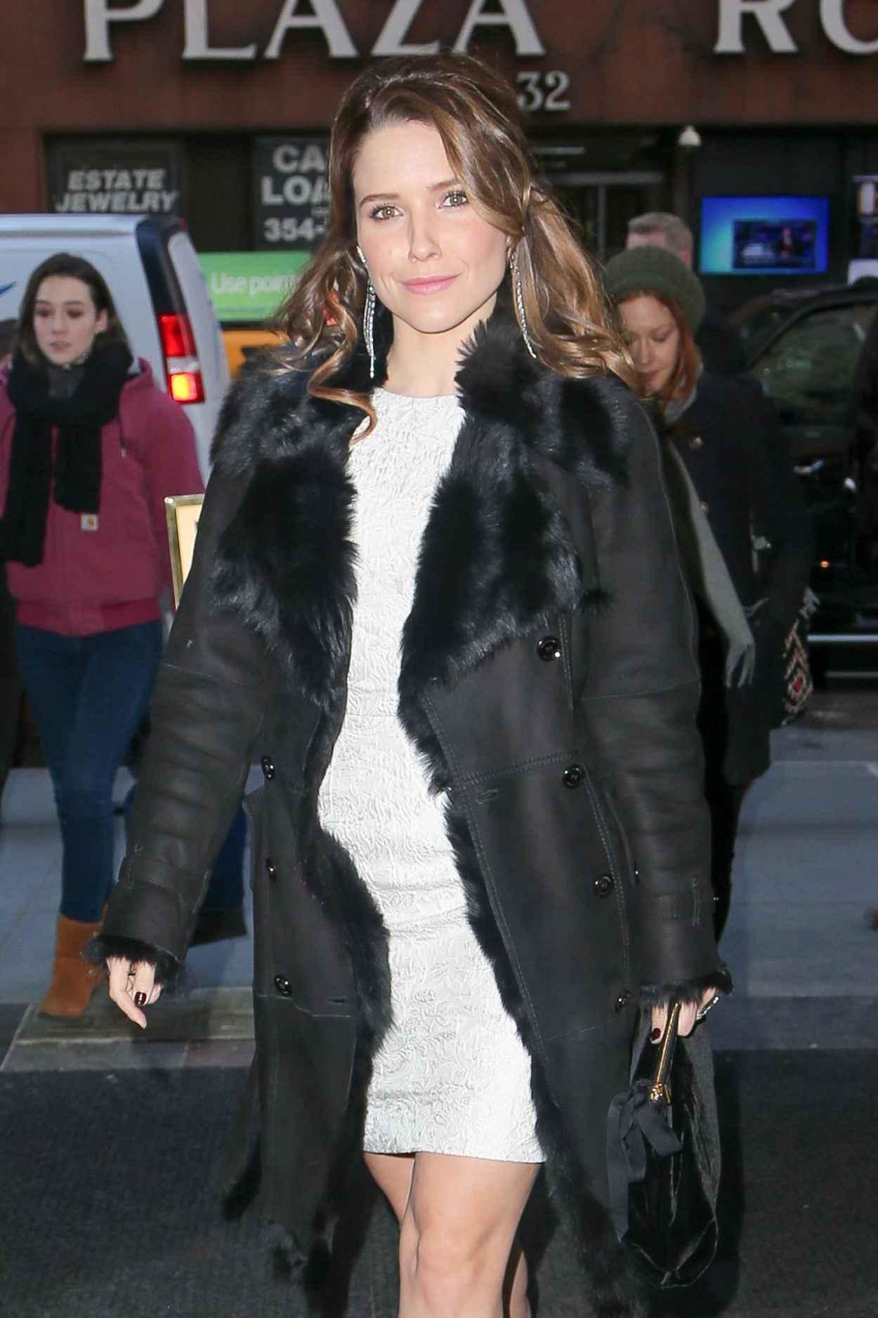 Sophia Bush Candids - Today Show in New York City-1
