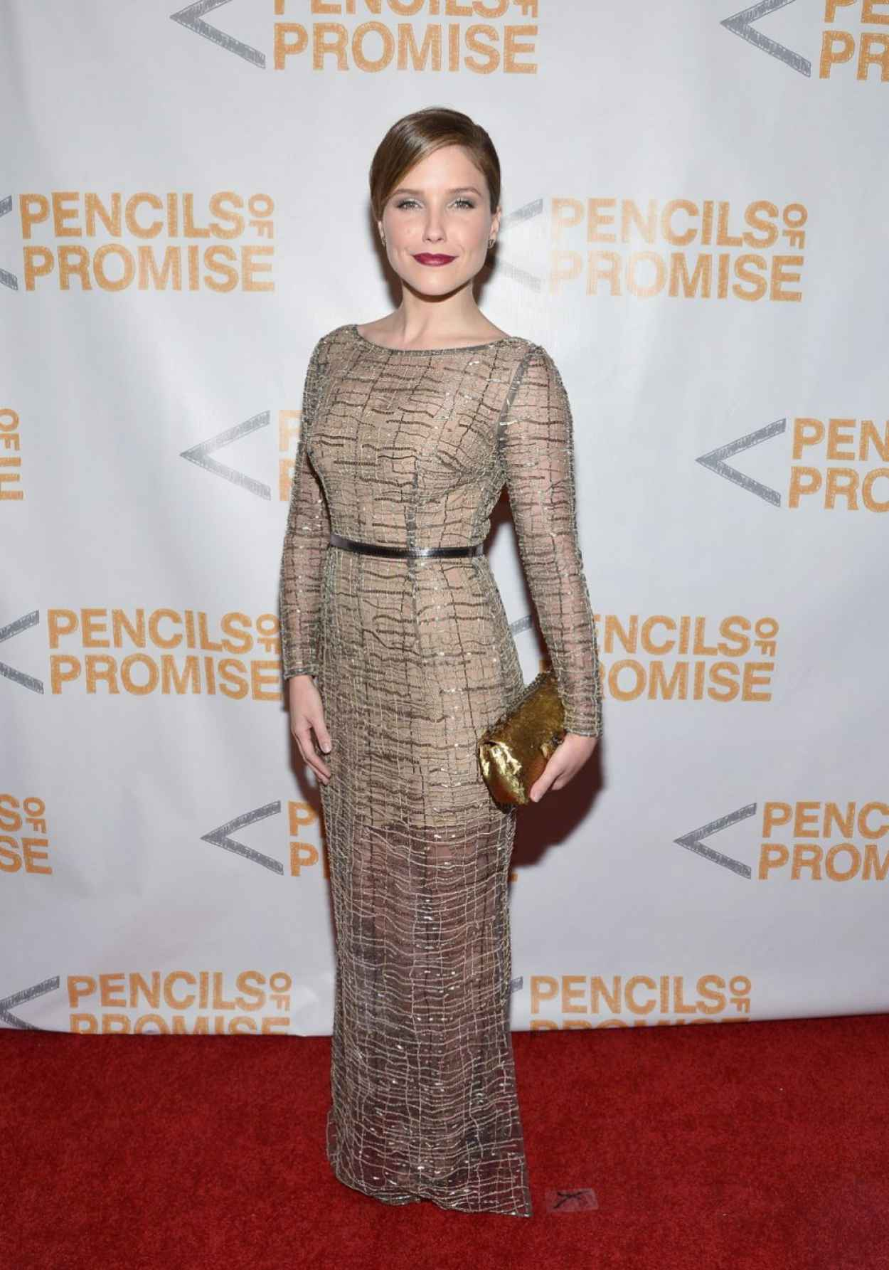 Sophia Bush - Third Annual Pencils of Promise Gala in New York City-1