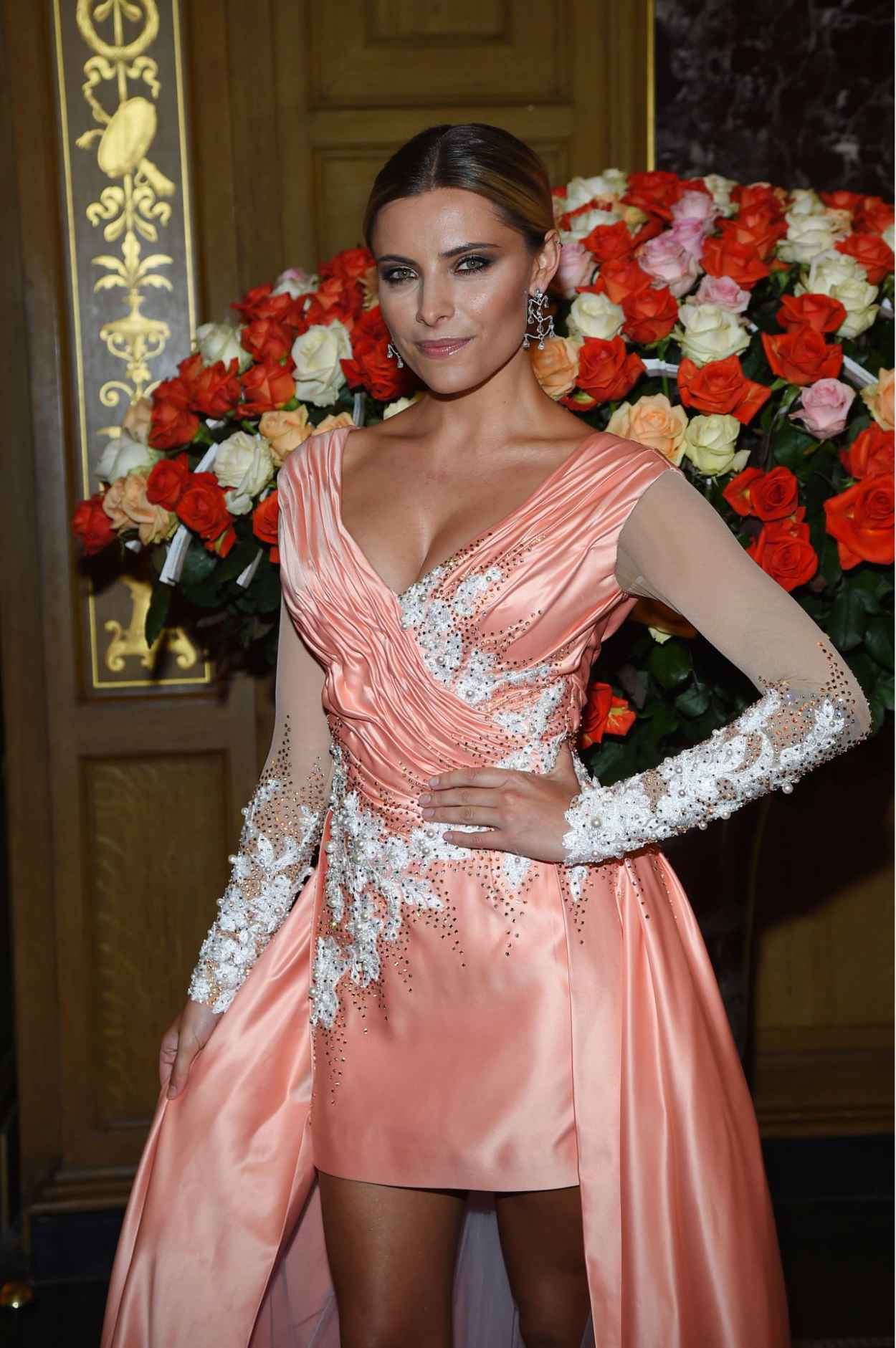 Sophia Thomalla - 10. SemperOpernball 2015 in Dresden-1