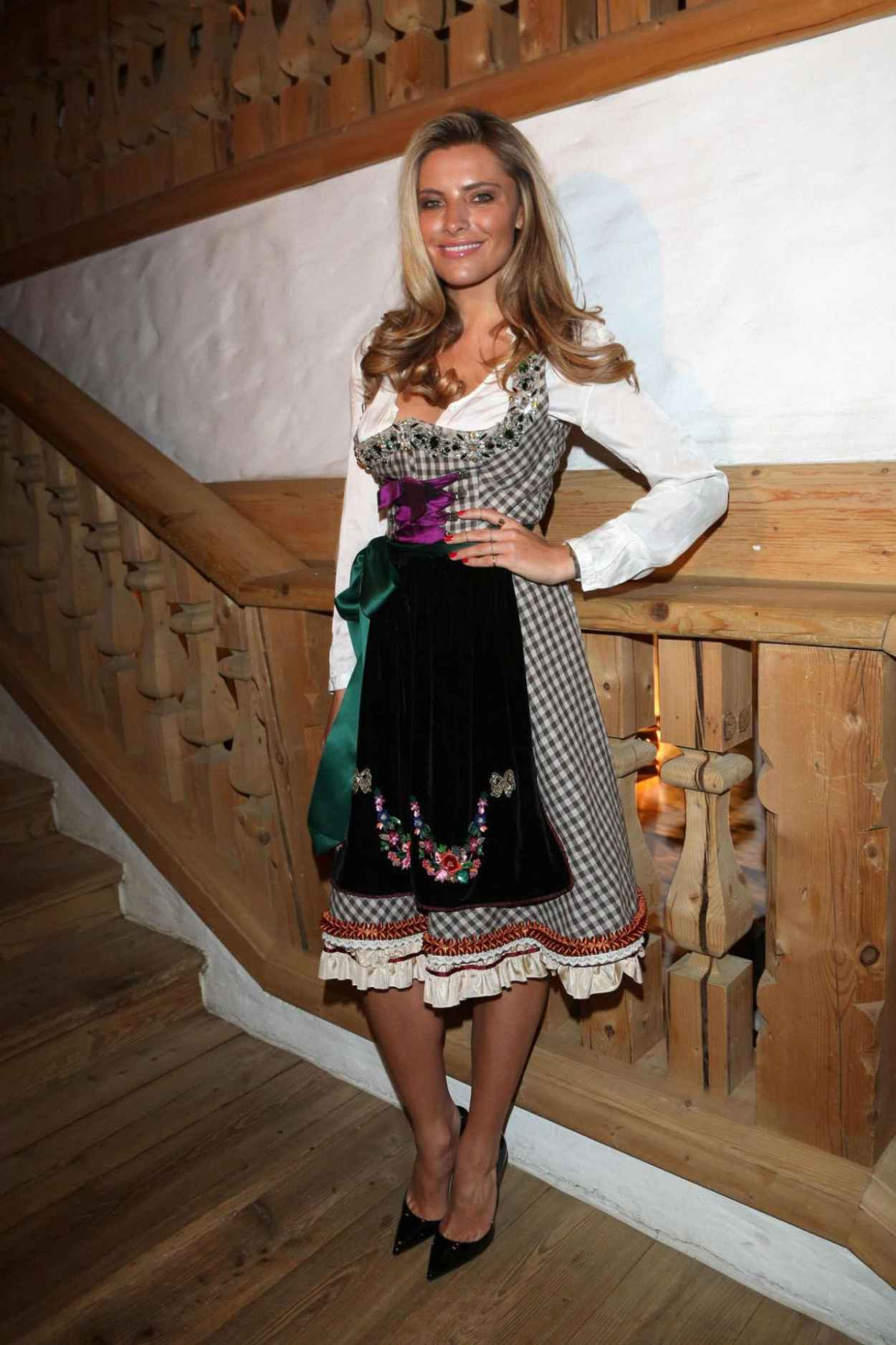 Sophia Thomalla - 2015 White Sausage Party in Kitzbuhel (Austria)-4