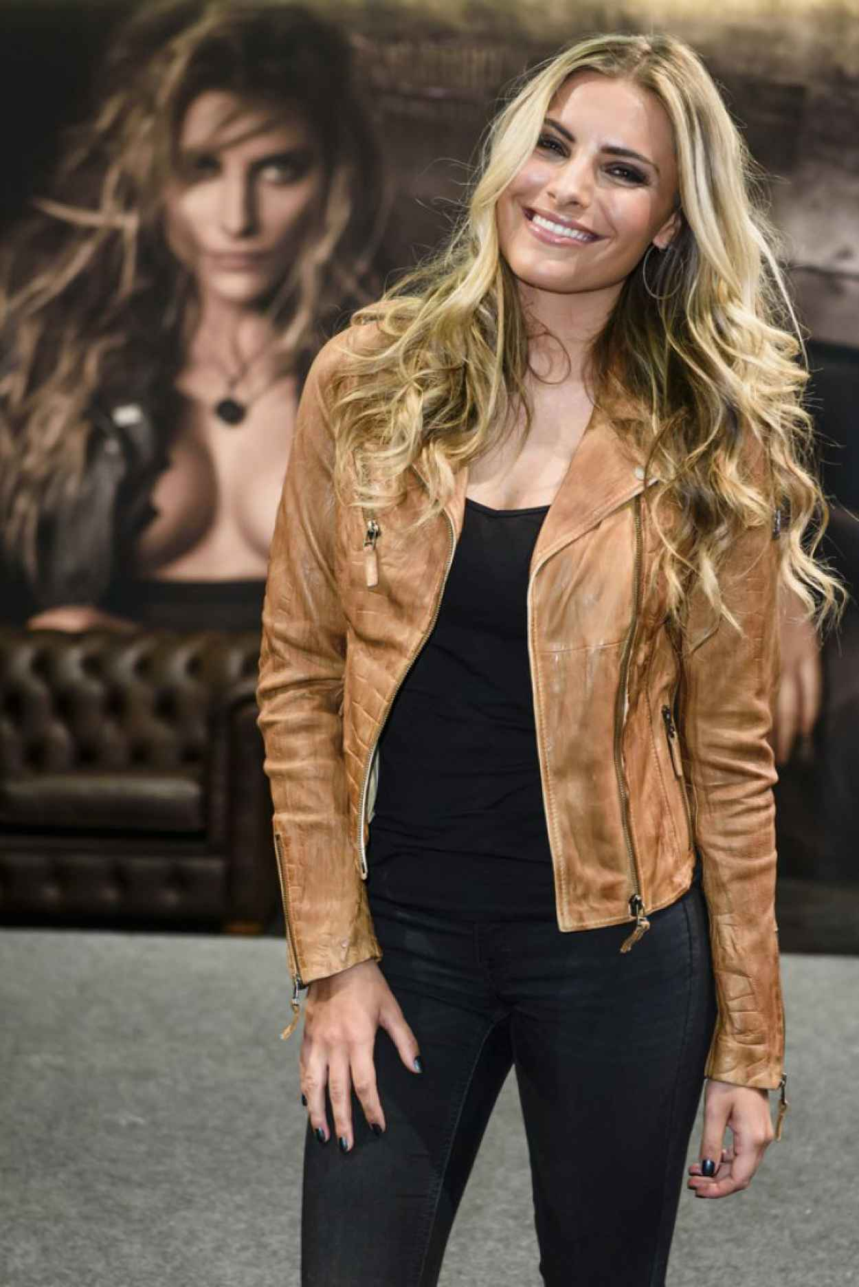 Sophia Thomalla - Panorama Fashion Fair Berlin, January 2015-1