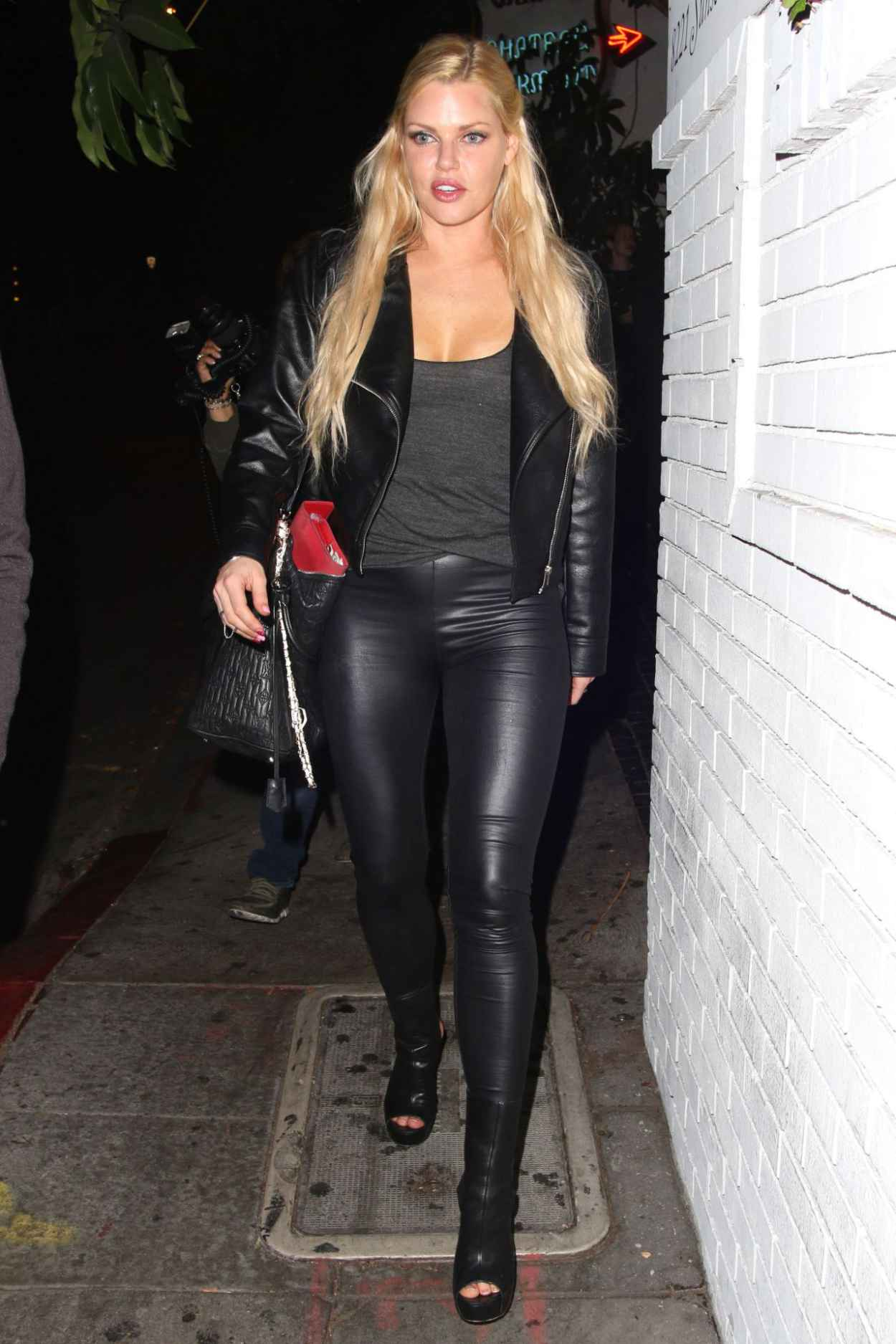 Sophie Monk Night Out Style - Leaving Chateau Marmont in West Hollywood - July 2015-4