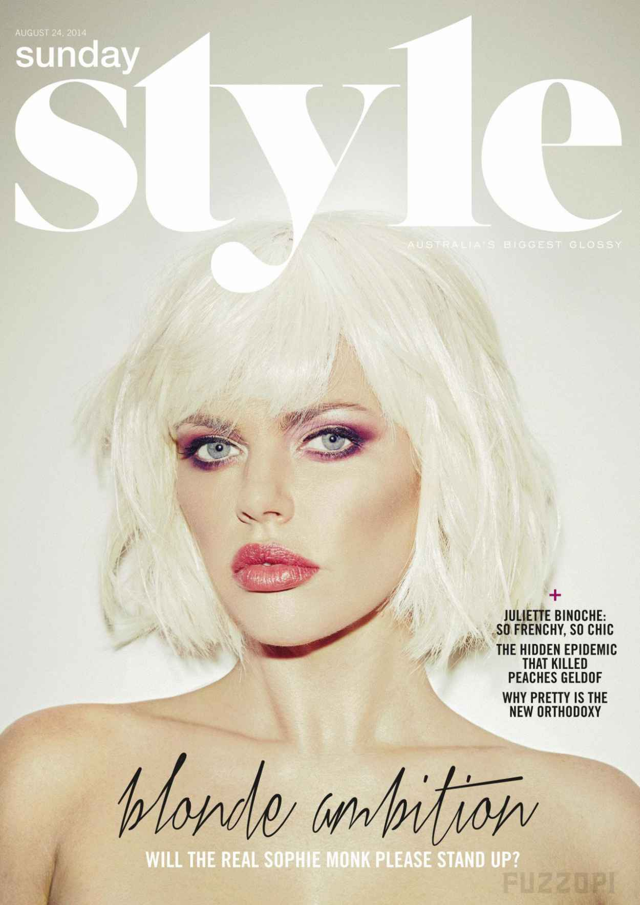 Sophie Monk - Sunday Style Magazine (UK) - August 24, 2015-1