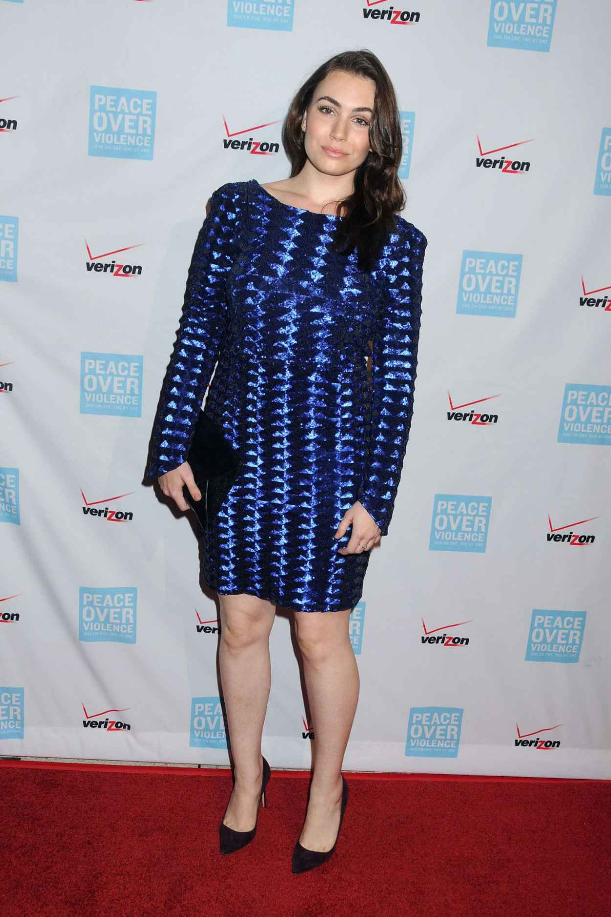 Sophie Simmons - 2015 Peace Over Violence Humanitarian Awards in Los Angeles-4