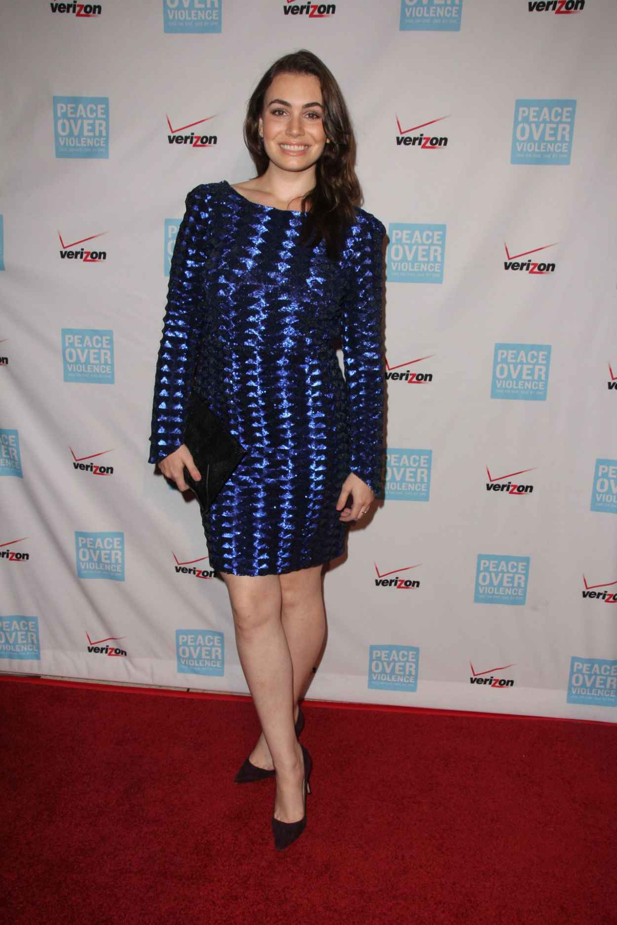 Sophie Simmons - 2015 Peace Over Violence Humanitarian Awards in Los Angeles-5