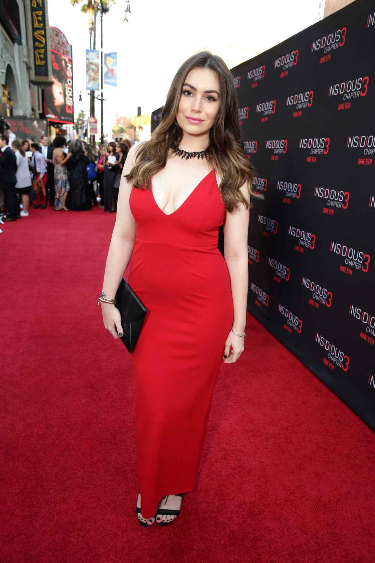 Sophie Simmons - Insidious Chapter 3 Premiere in Hollywood-4