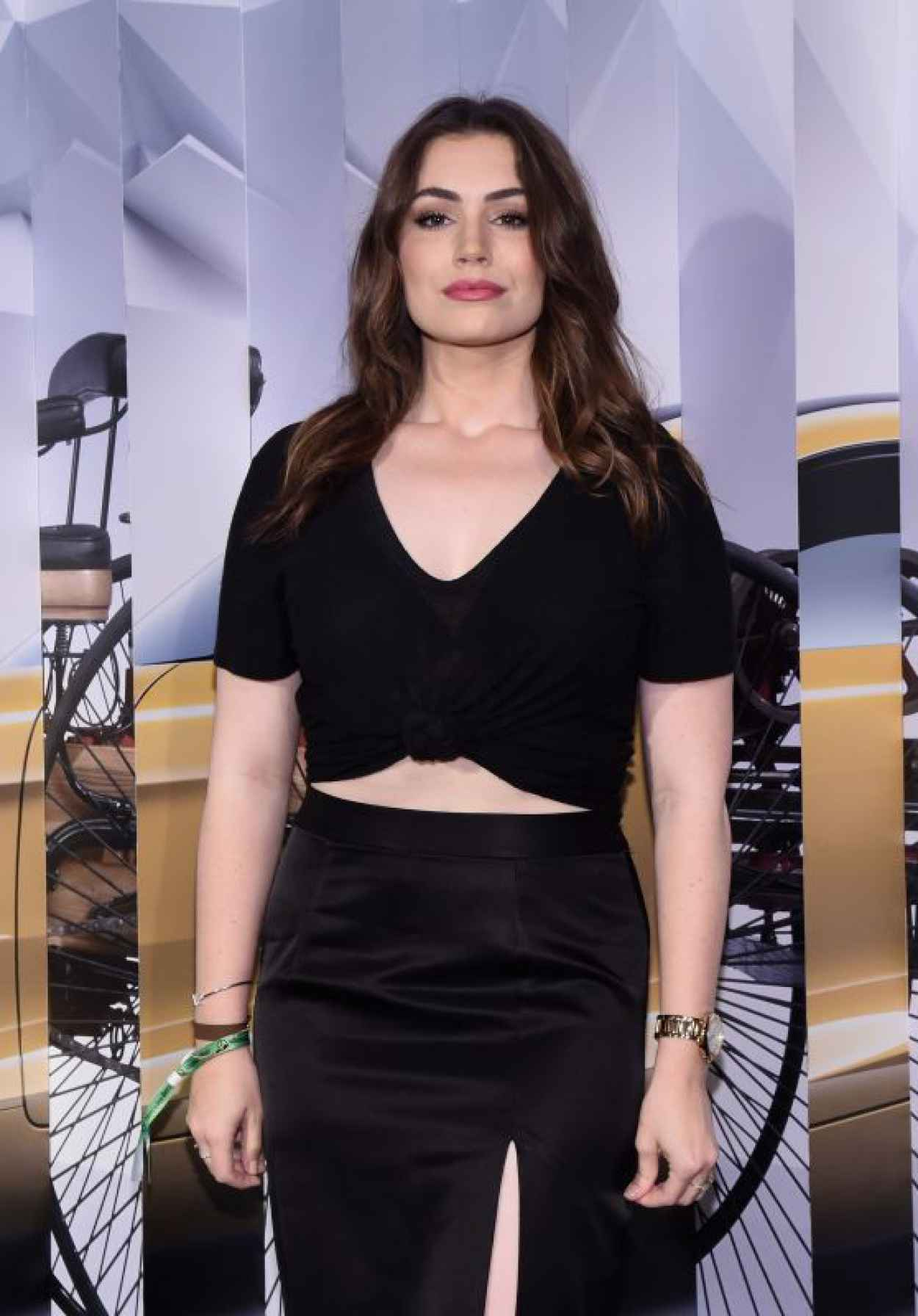 Sophie Simmons - Mercedes-Benz Kicks-Off 2015 Evolution Tour In New York City-1