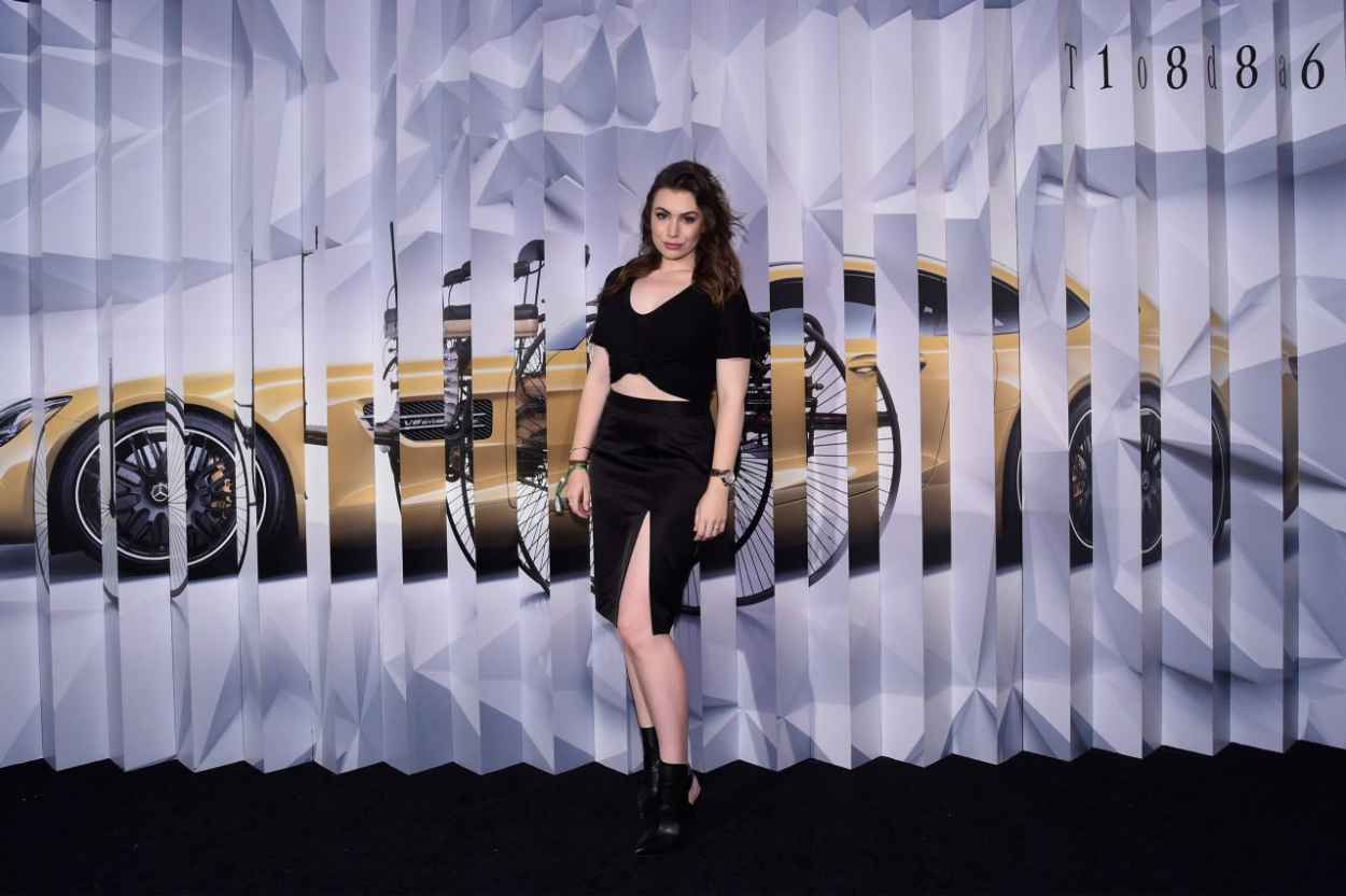 Sophie Simmons - Mercedes-Benz Kicks-Off 2015 Evolution Tour In New York City-4