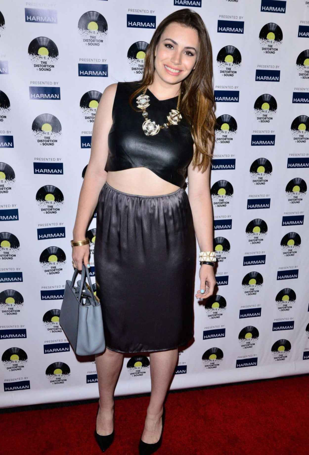 Sophie Simmons - -The Distortion of Sound- Premiere in Los Angeles-1