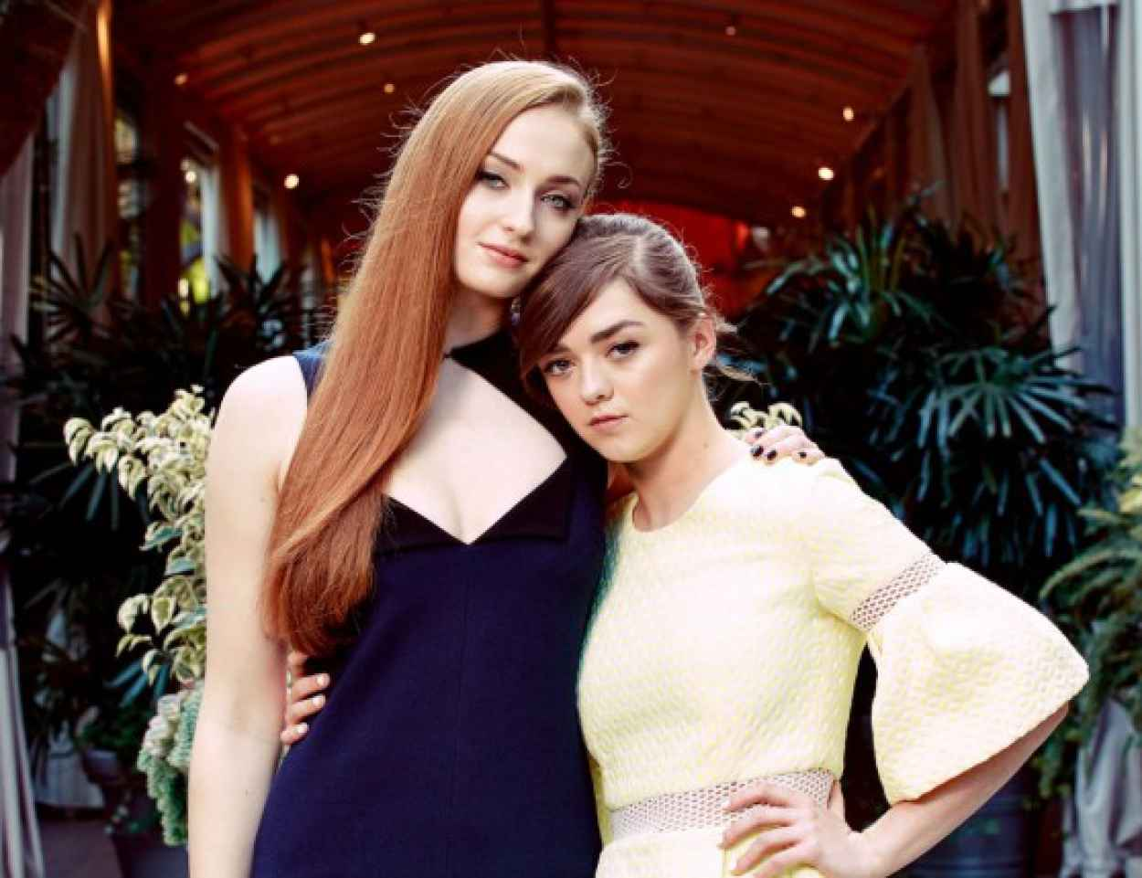 Sophie Turner and Maisie Williams - The New York Times Photoshoot, March 2015-1
