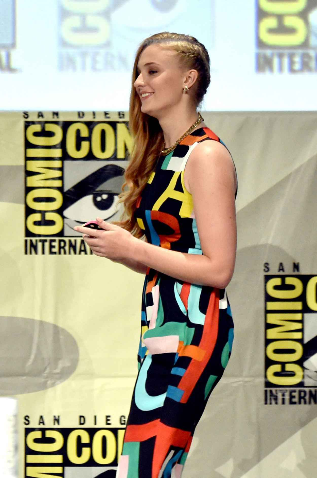 Sophie Turner - Game of Thrones Panel at Comic-Con 2015 in San Diego-2