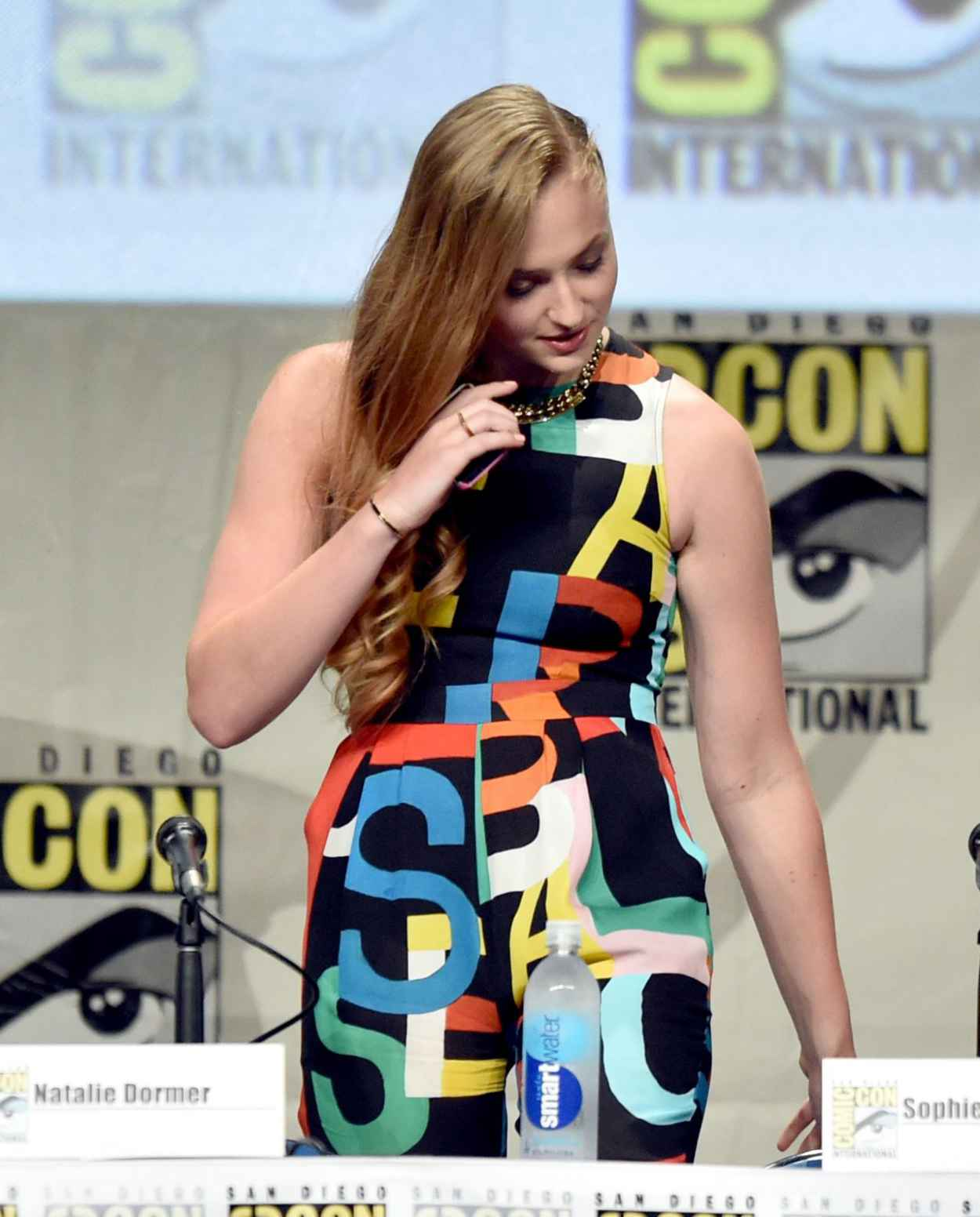 Sophie Turner - Game of Thrones Panel at Comic-Con 2015 in San Diego-3