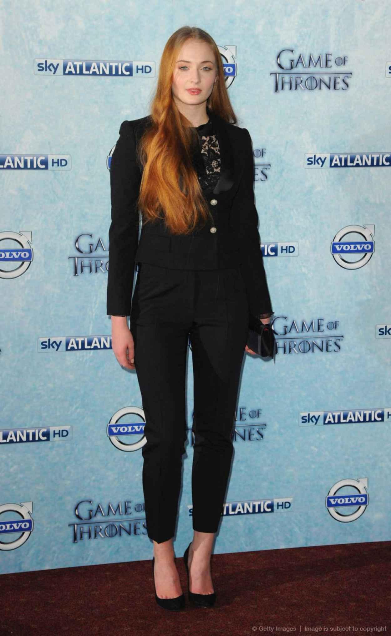 Sophie Turner - Game of Thrones TV Series Season 4 Premiere in London-1