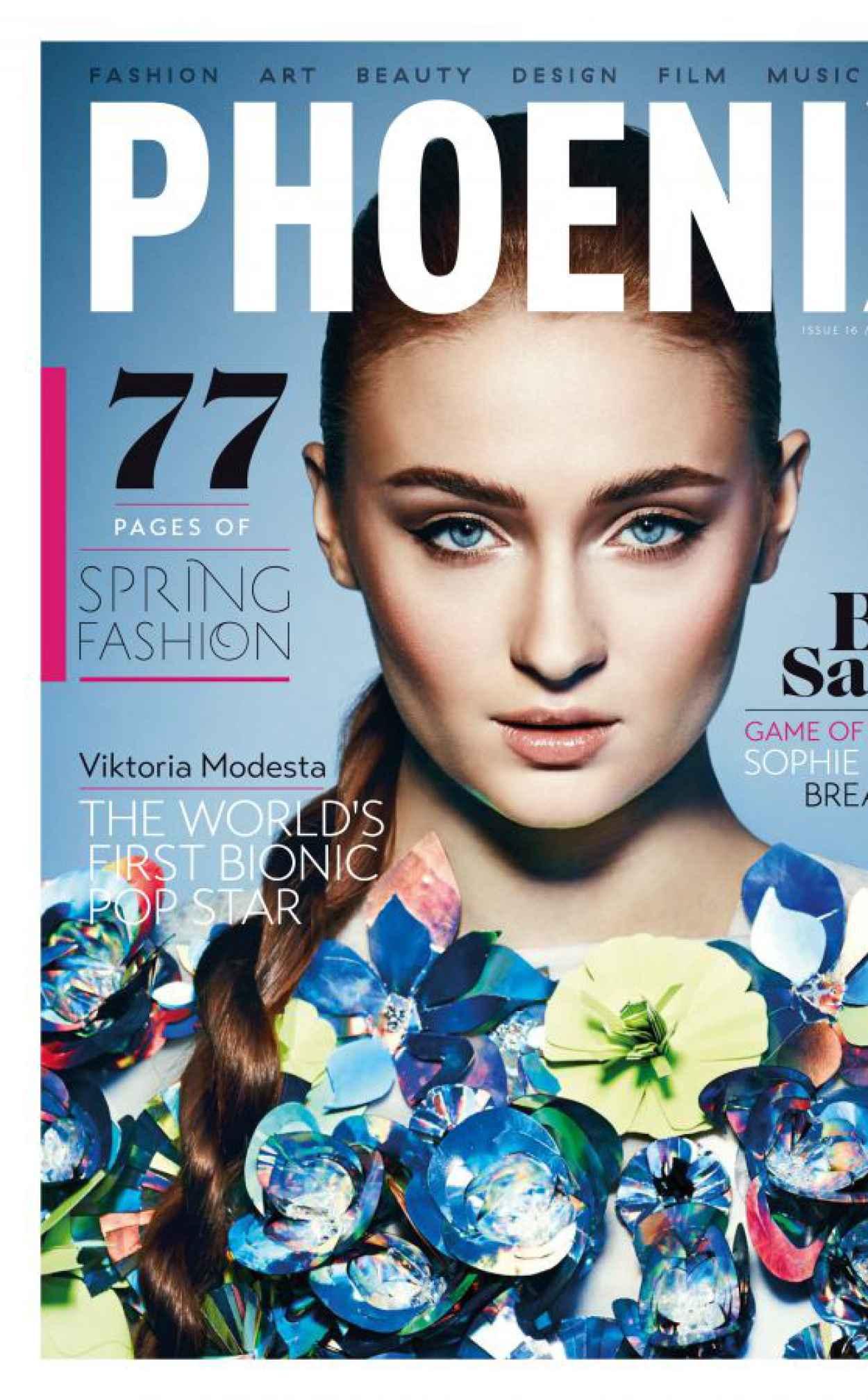 Sophie Turner - Phoenix Magazine (UK) Spring 2015 Issue-1