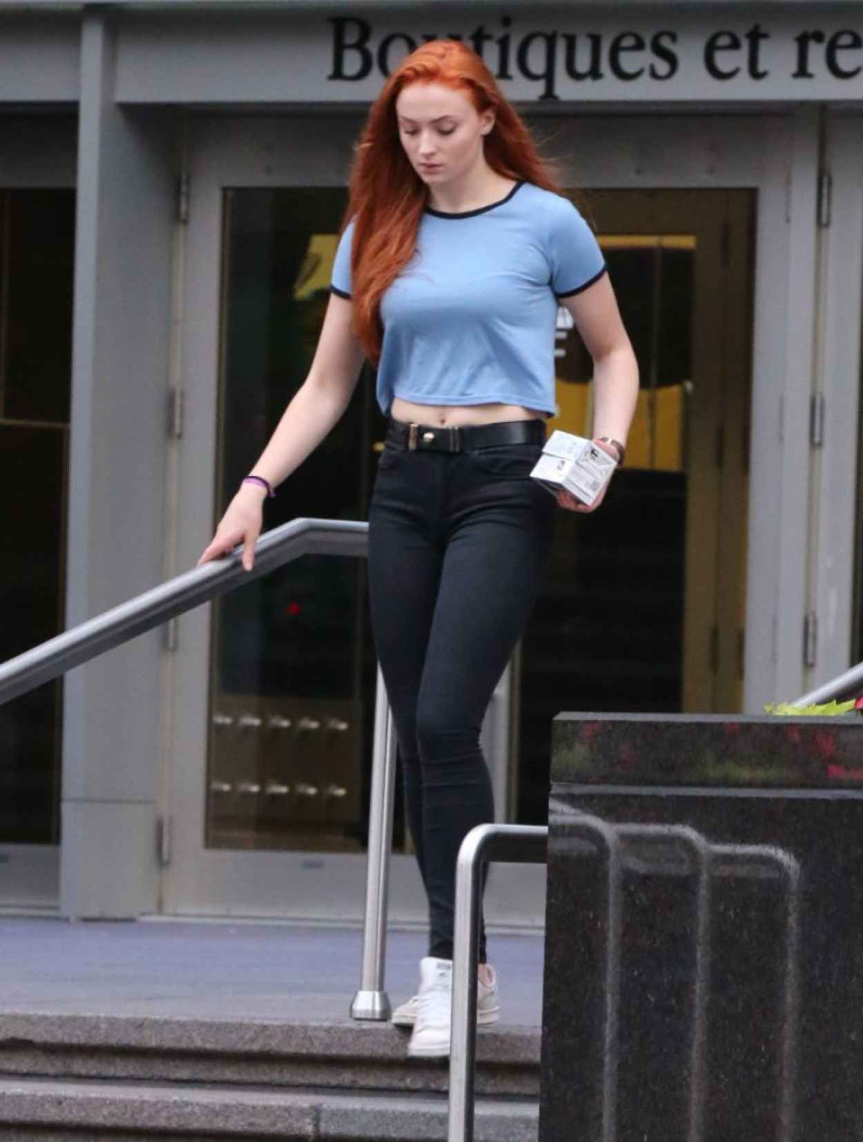 Sophie Turner Street Style - Out in Montreal, June 2015-3