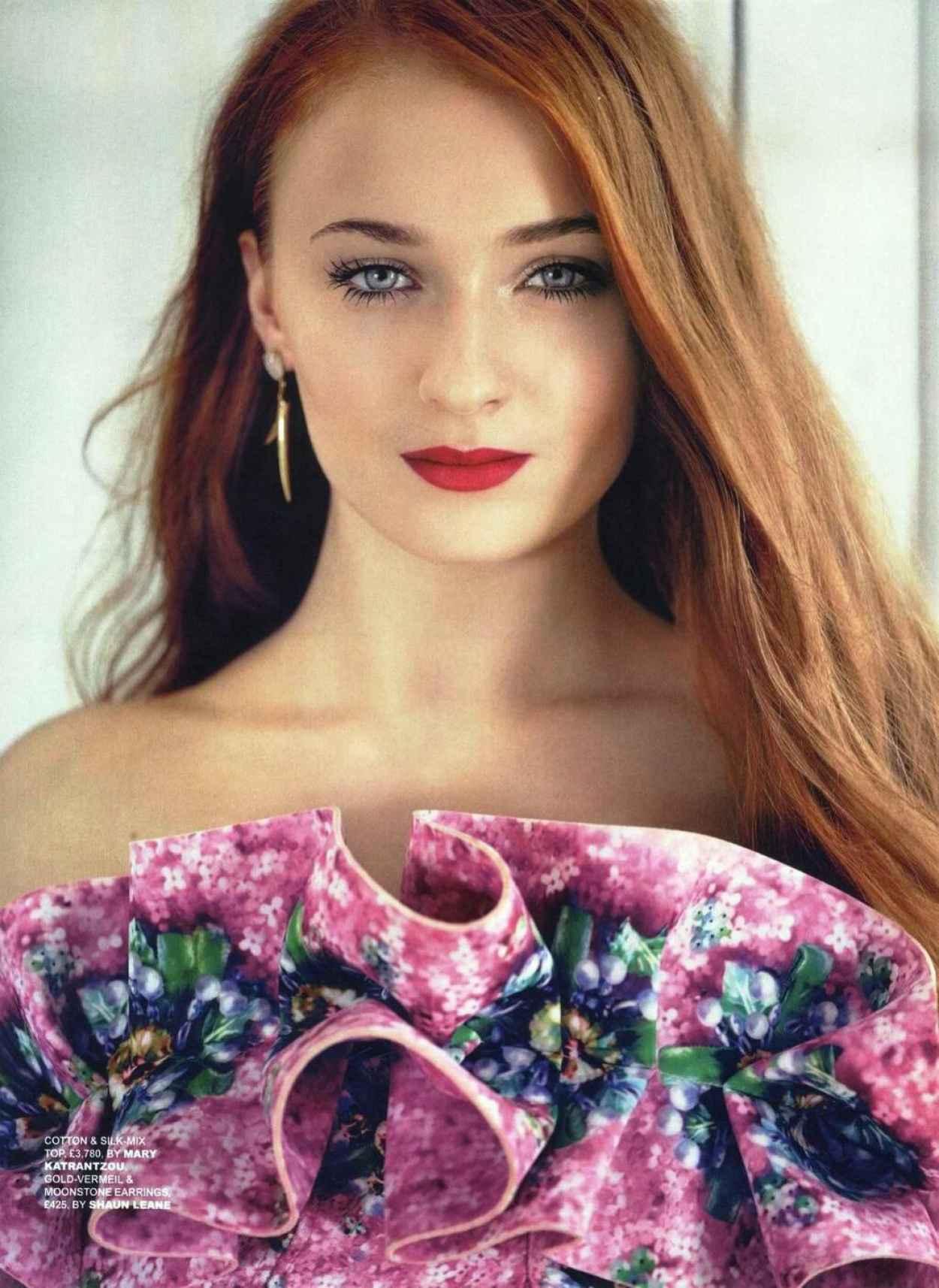 Sophie Turner - Tatler Magazine (UK) - March 2015 Issue-1