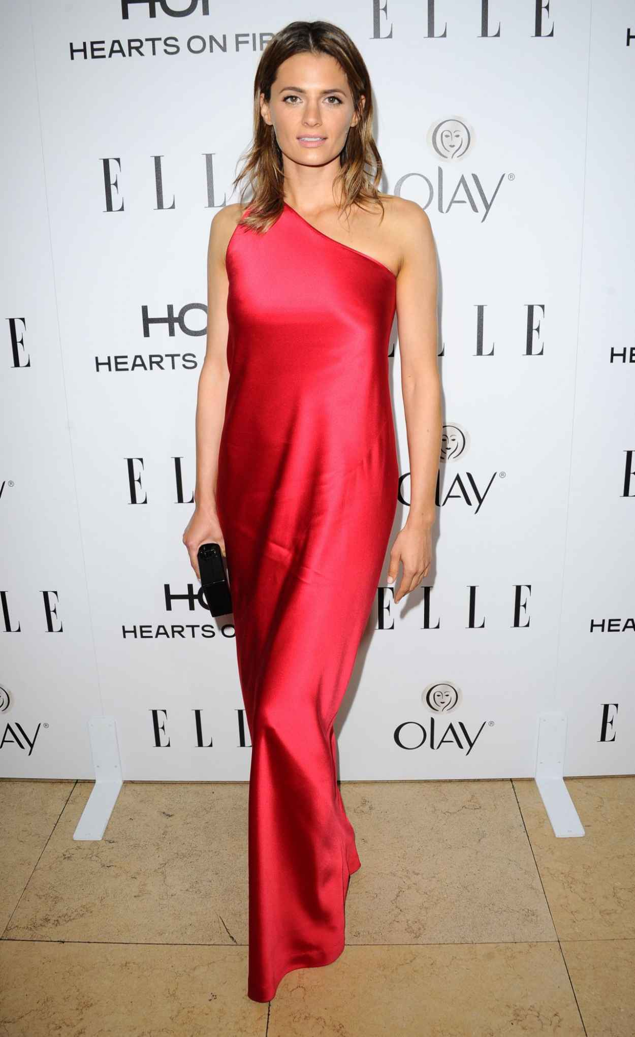 Stana Katic - ELLE 2015 Annual Women in TV Celebration in Los Angeles-1