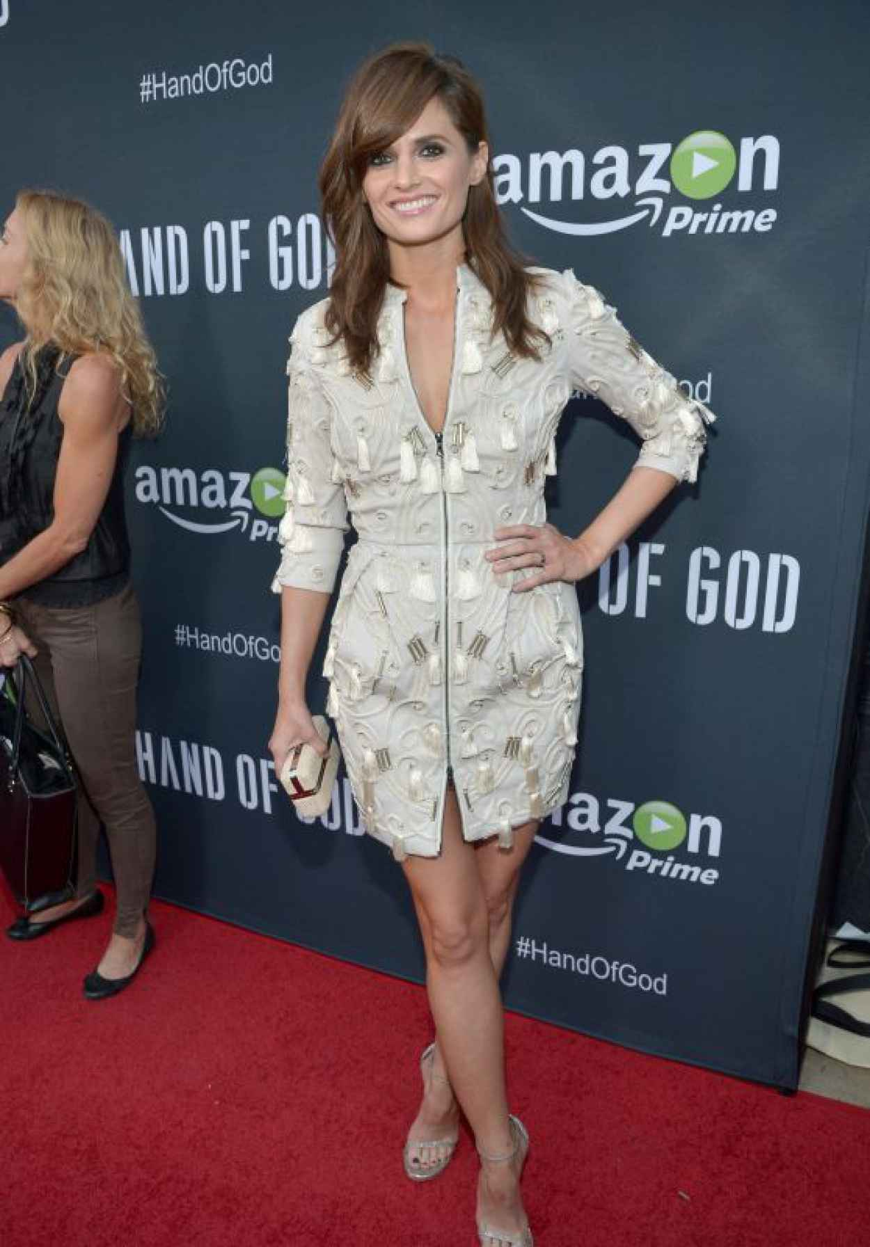 Stana Katic - Hand of God Screening in Los Angeles-1