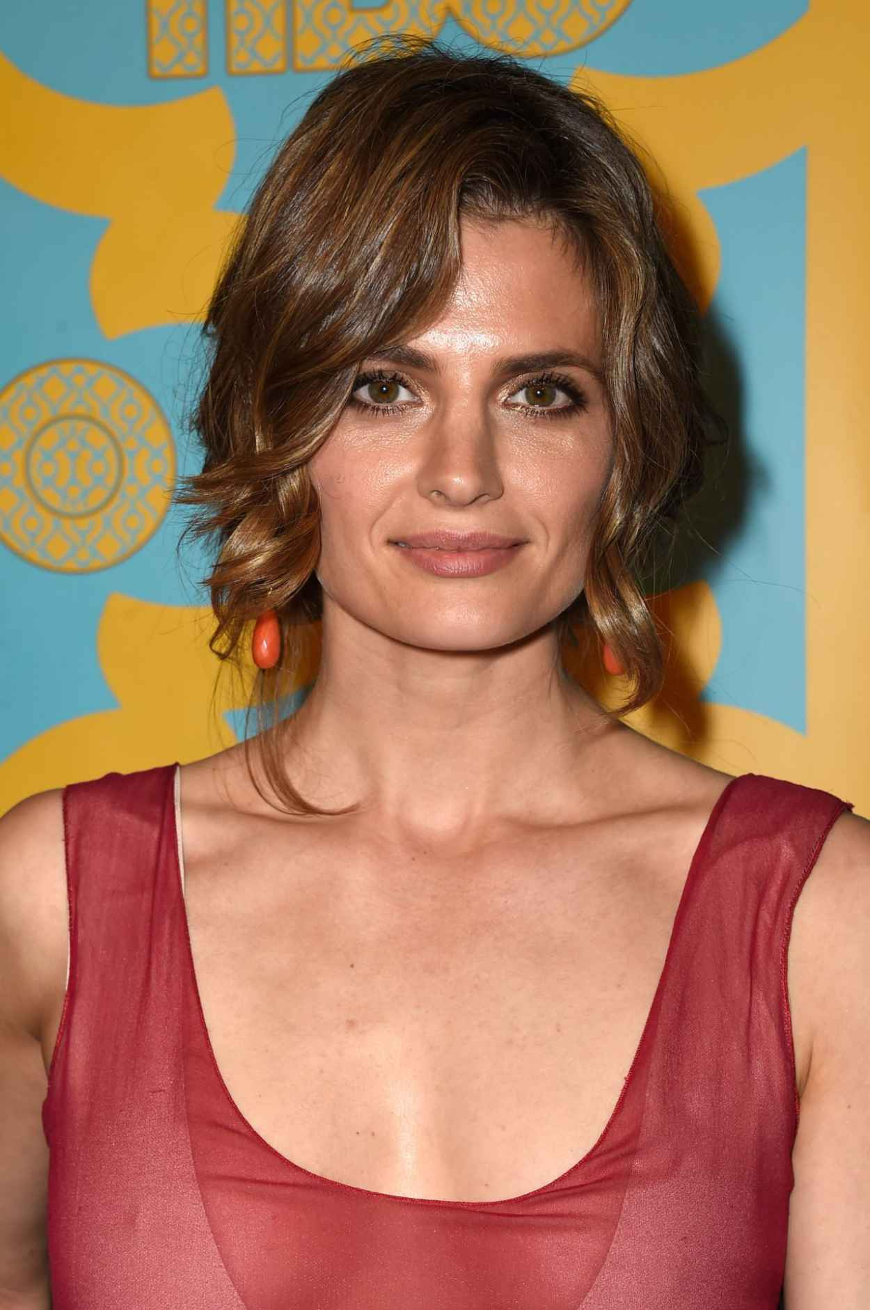 Stana Katic - HBO-s Post 2015 Golden Globe Awards Party-1