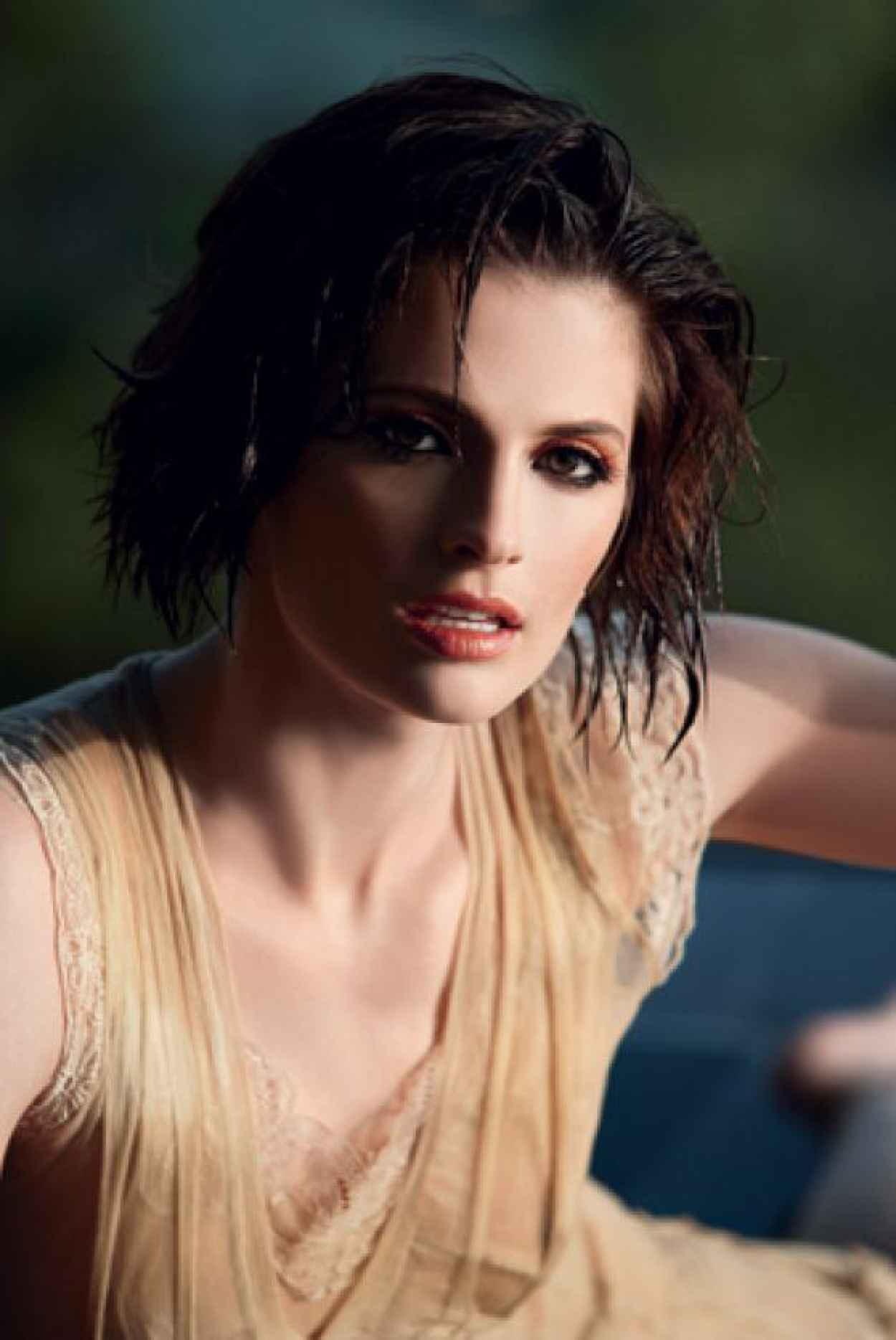 Stana Katic - Pool Photoshoot-5