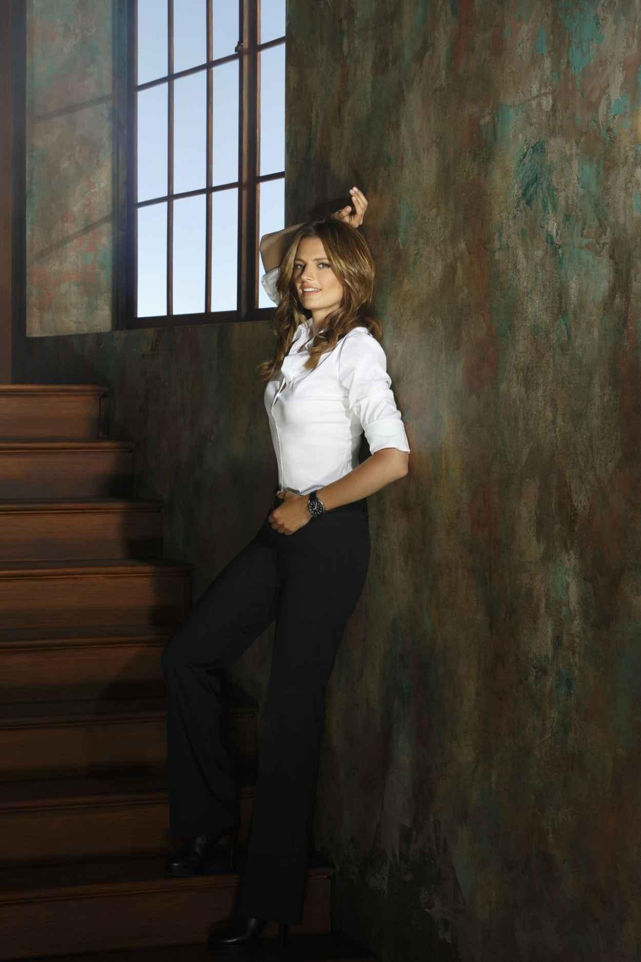 Stana Katic Promoshoot for Castle Season 6-1