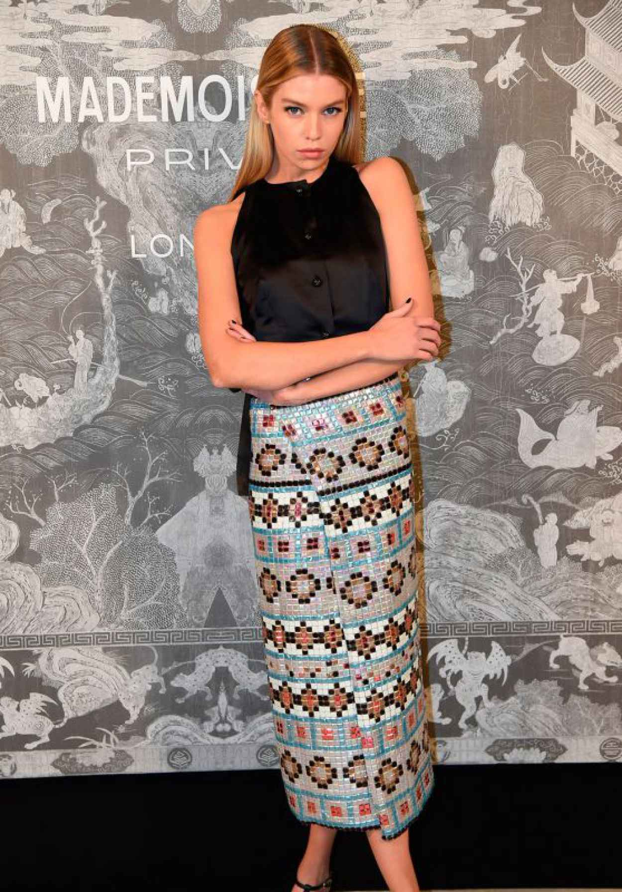 Stella Maxwell - Chanel Exhibition Party in London, October 2015-1