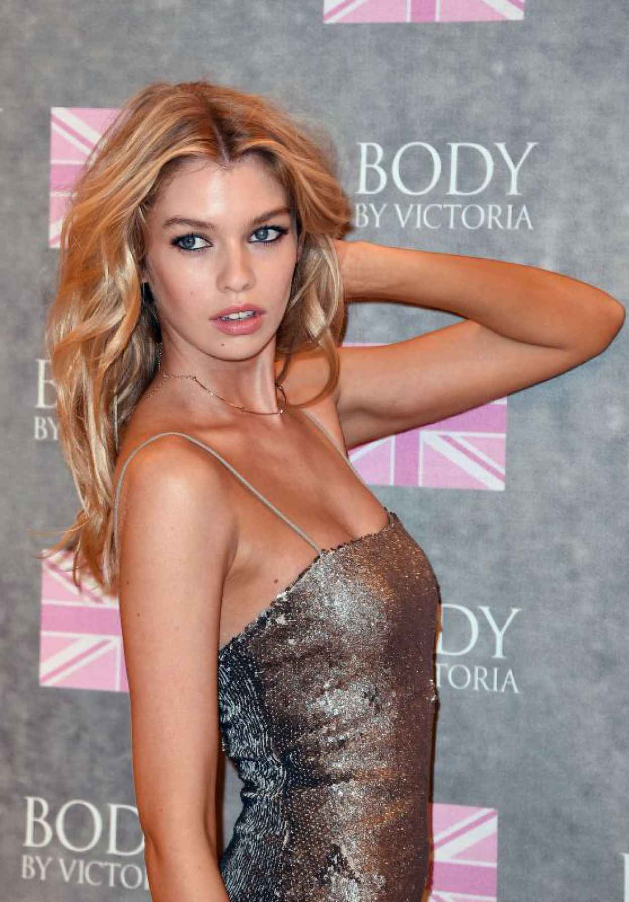 Stella Maxwell - Launches -Body by Victoria- Collection in London, August 2015-1