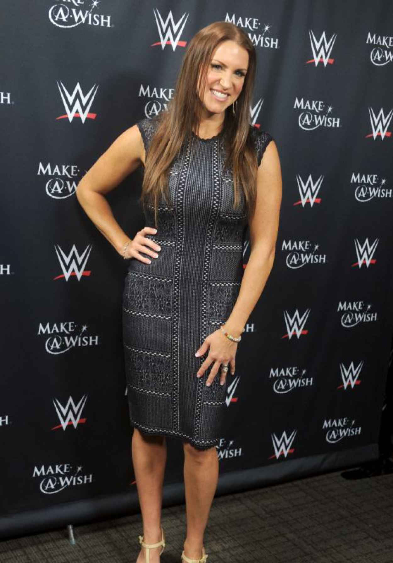 Stephanie McMahon - John Cena & Make-A-Wish Celebration of his 500th Wish Granting Milestone in NYC-1