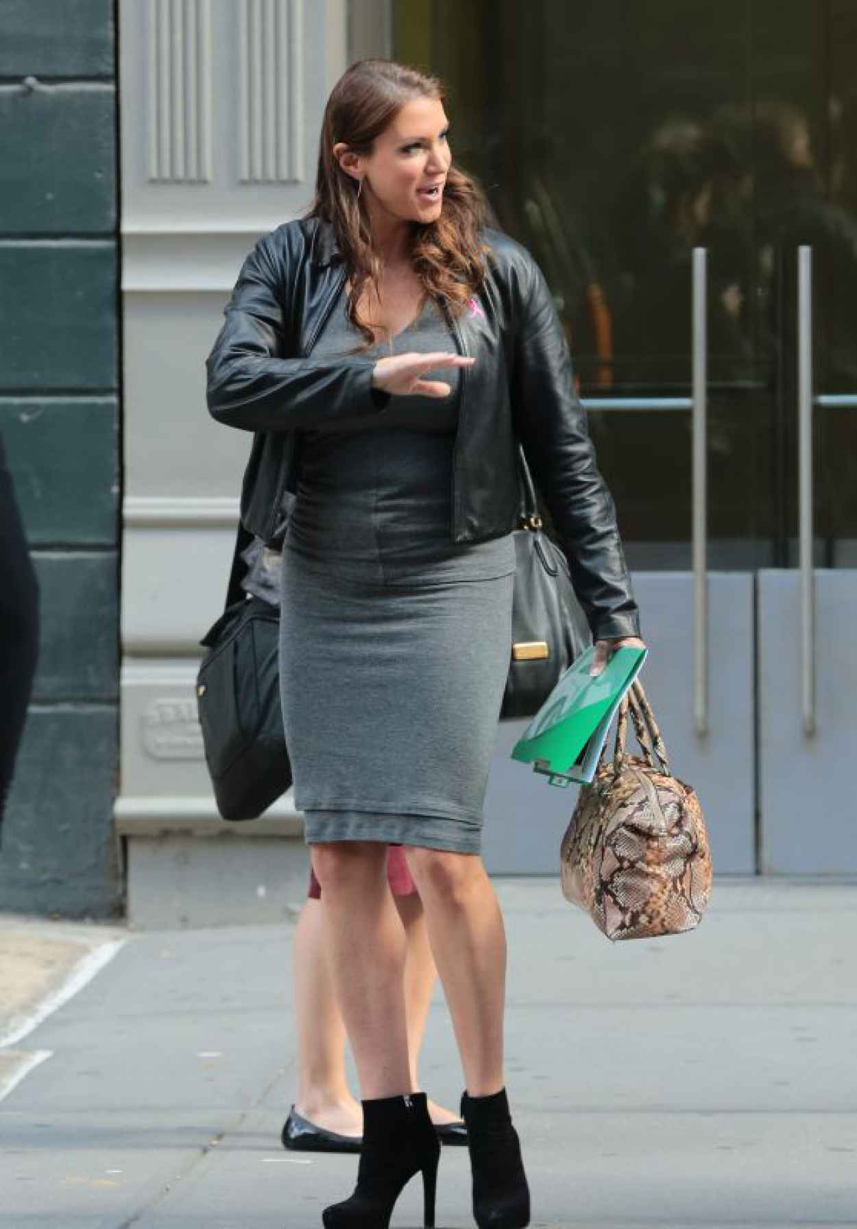 Stephanie McMahon - Out in New York City, October 2015-1