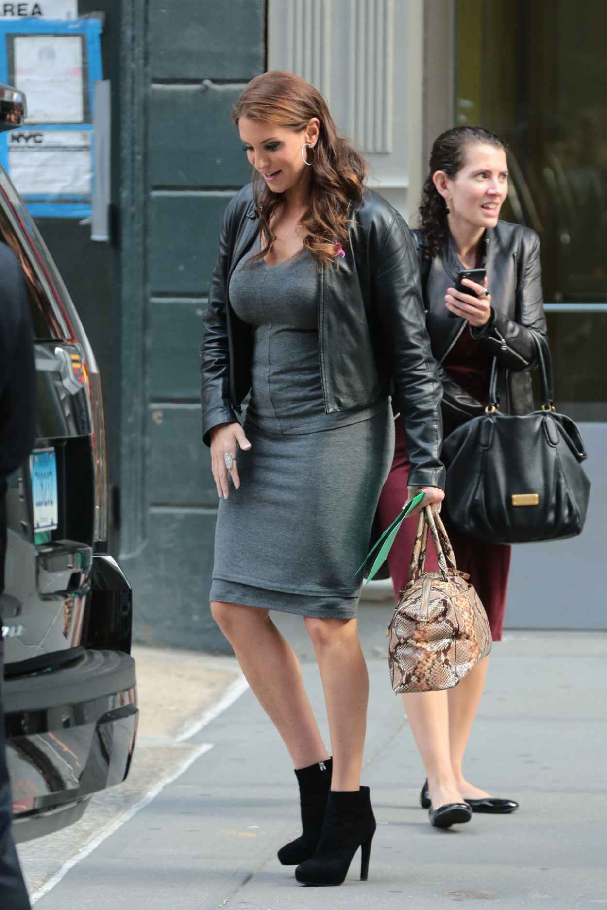 Stephanie McMahon - Out in New York City, October 2015-2