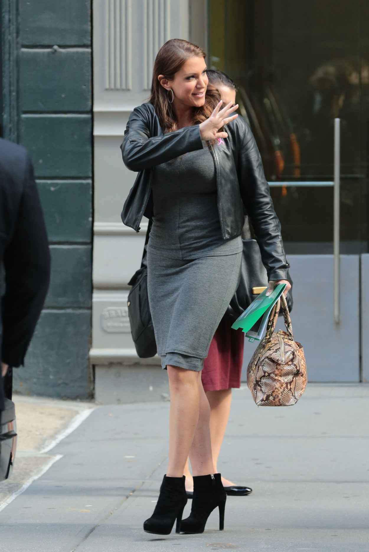 Stephanie McMahon - Out in New York City, October 2015-3