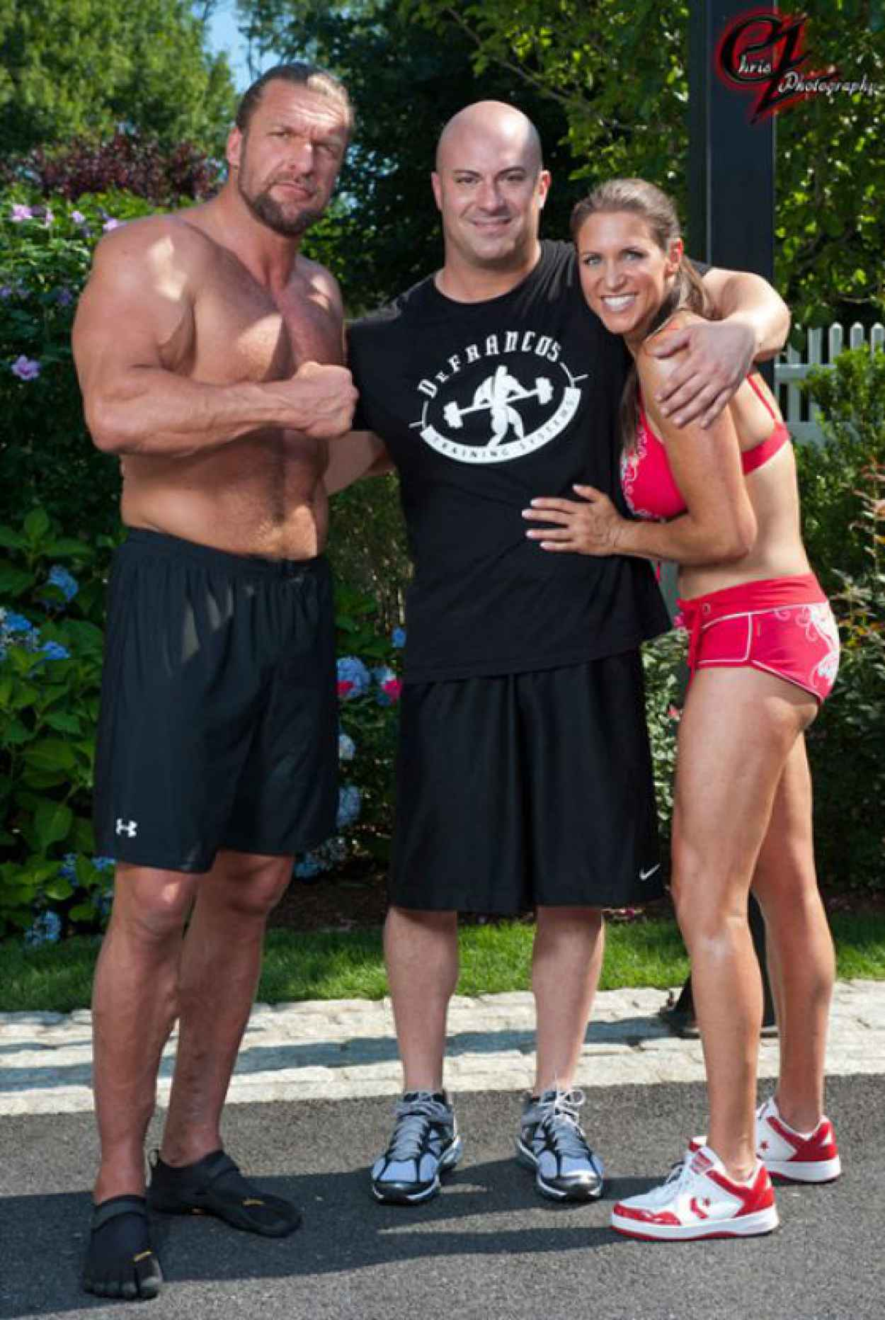 Stephanie McMahon in Bikini Working Out - Chris Zimmerman Photoshoot (2012)-4