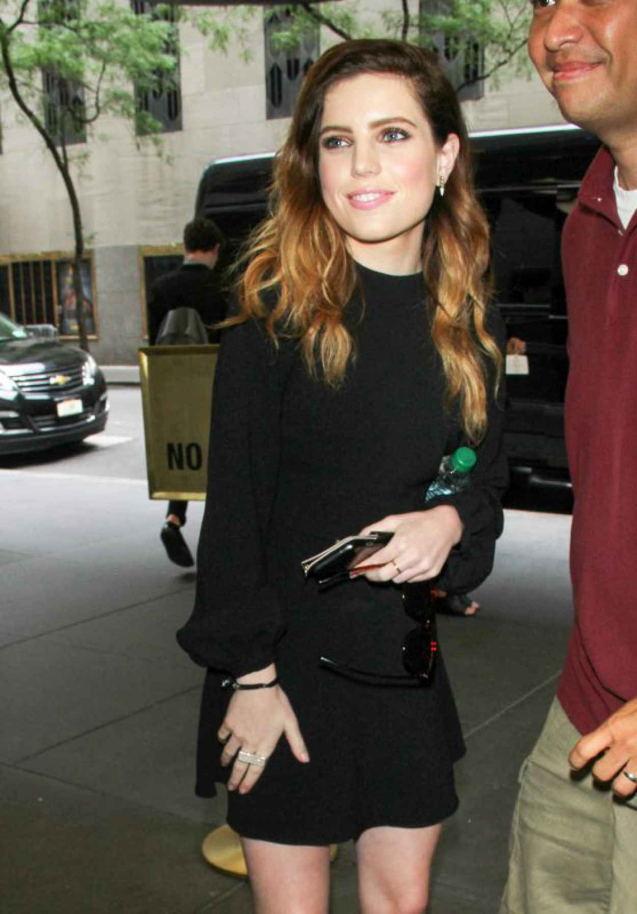 Sydney Sierota Style 2015 - The Tonight Show Starring Jimmy Fallon in NYC-1