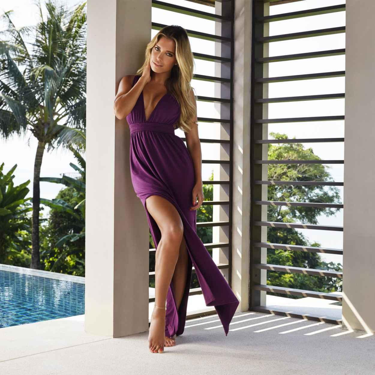 Sylvie Meis Hot in Bikini - Hunkemoller Swim & Beachwear 2015-5