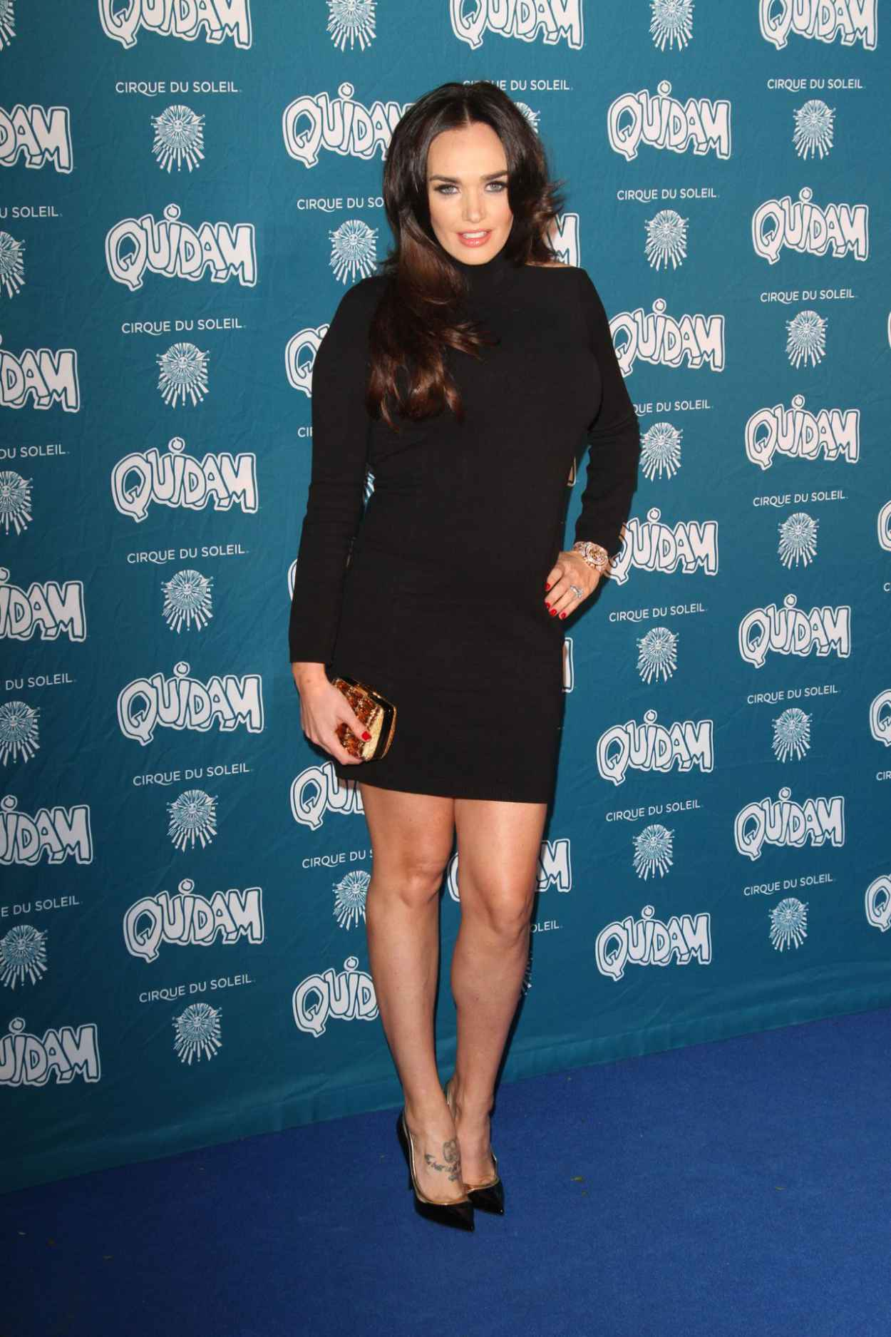 Tamara Ecclestone Attends Cirque Du Solell: Quidam - January 2015-1