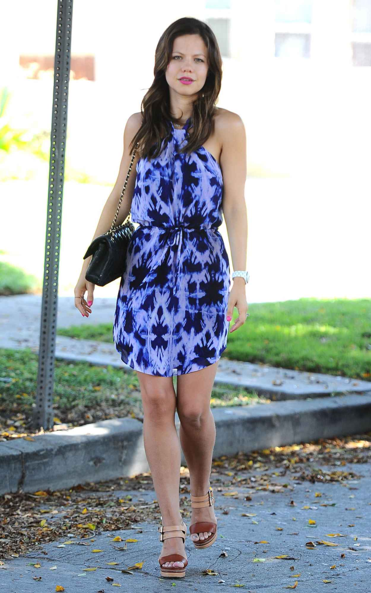 Tammin Sursok - Out and About in Los Angeles, September 2015-2