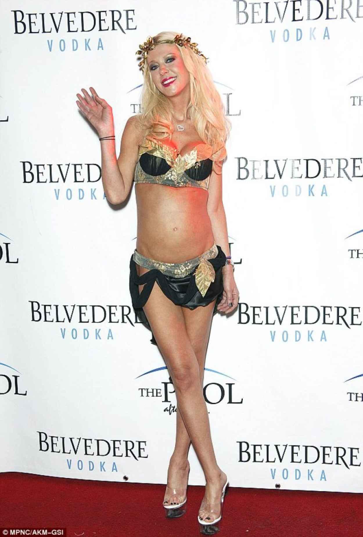 Tara Reid in a Bikini at Halloween Costume Party-1