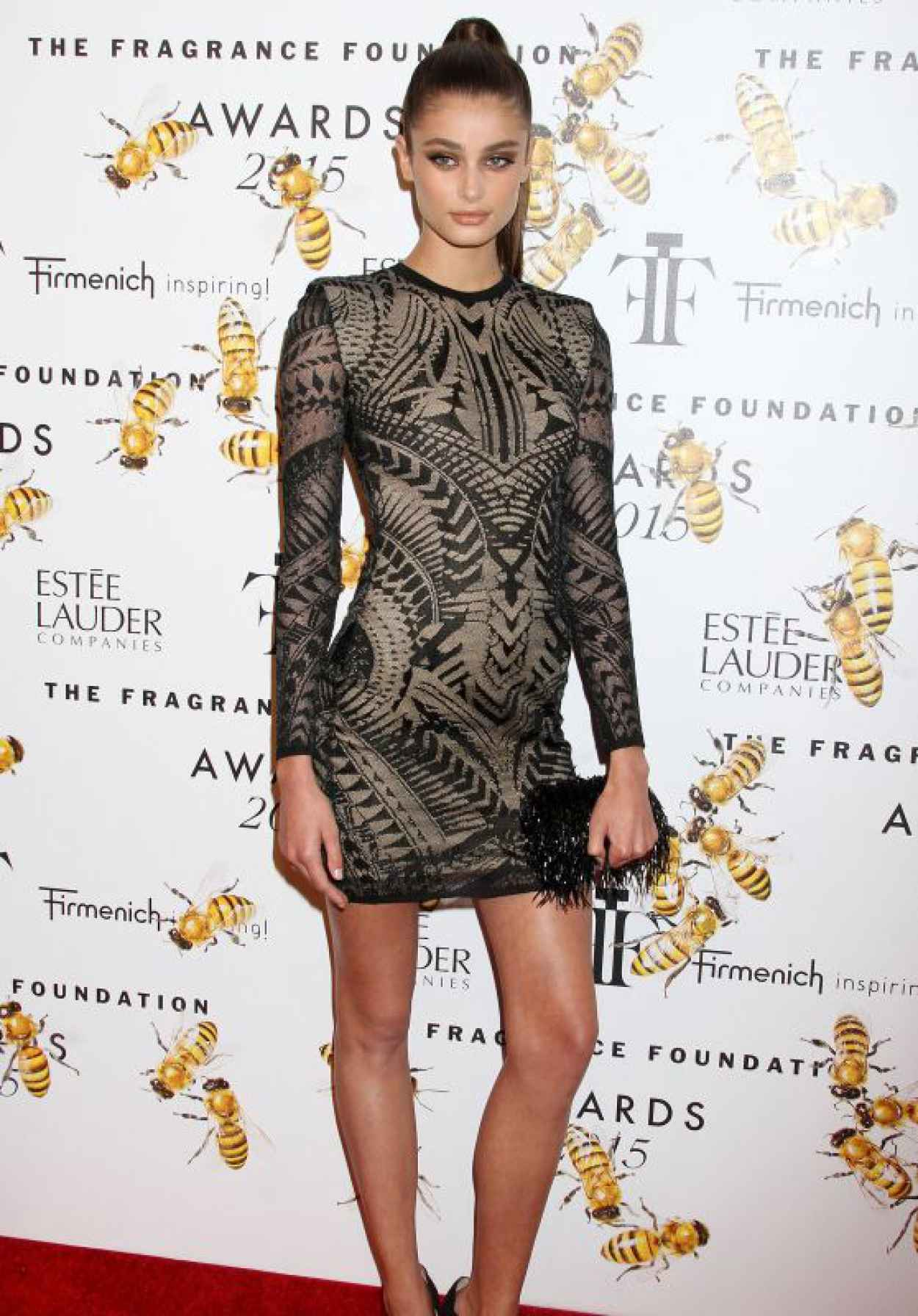 Taylor Hill - 2015 Fragrance Foundation Awards in NYC-1
