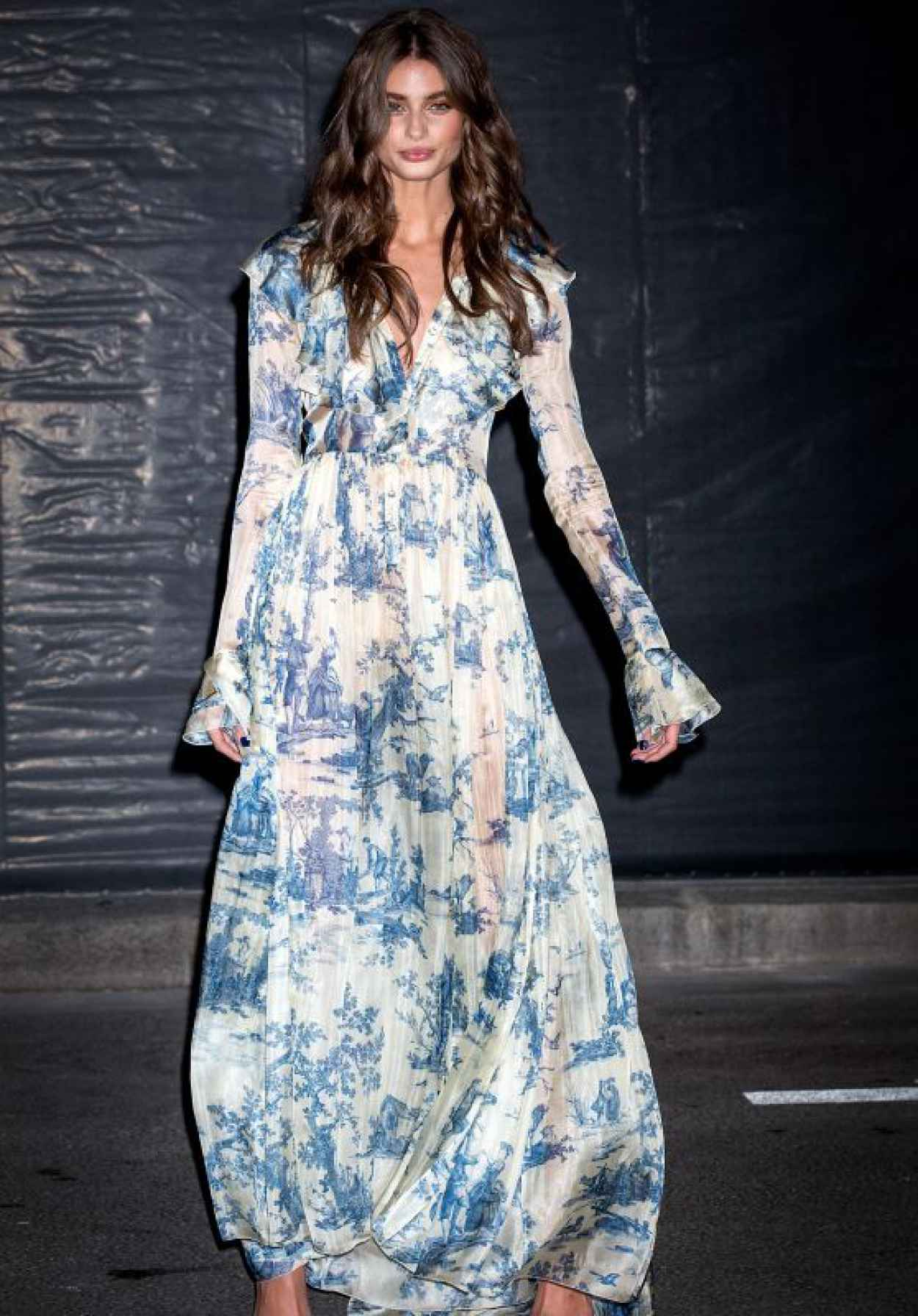 Taylor Hill - Vogue 95th Anniversary Party in Paris-1
