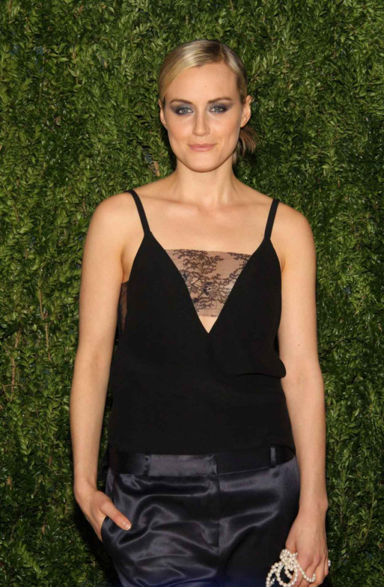 Taylor Schilling - CFDA & Vogue 2015 Fashion Fund in New York City-1